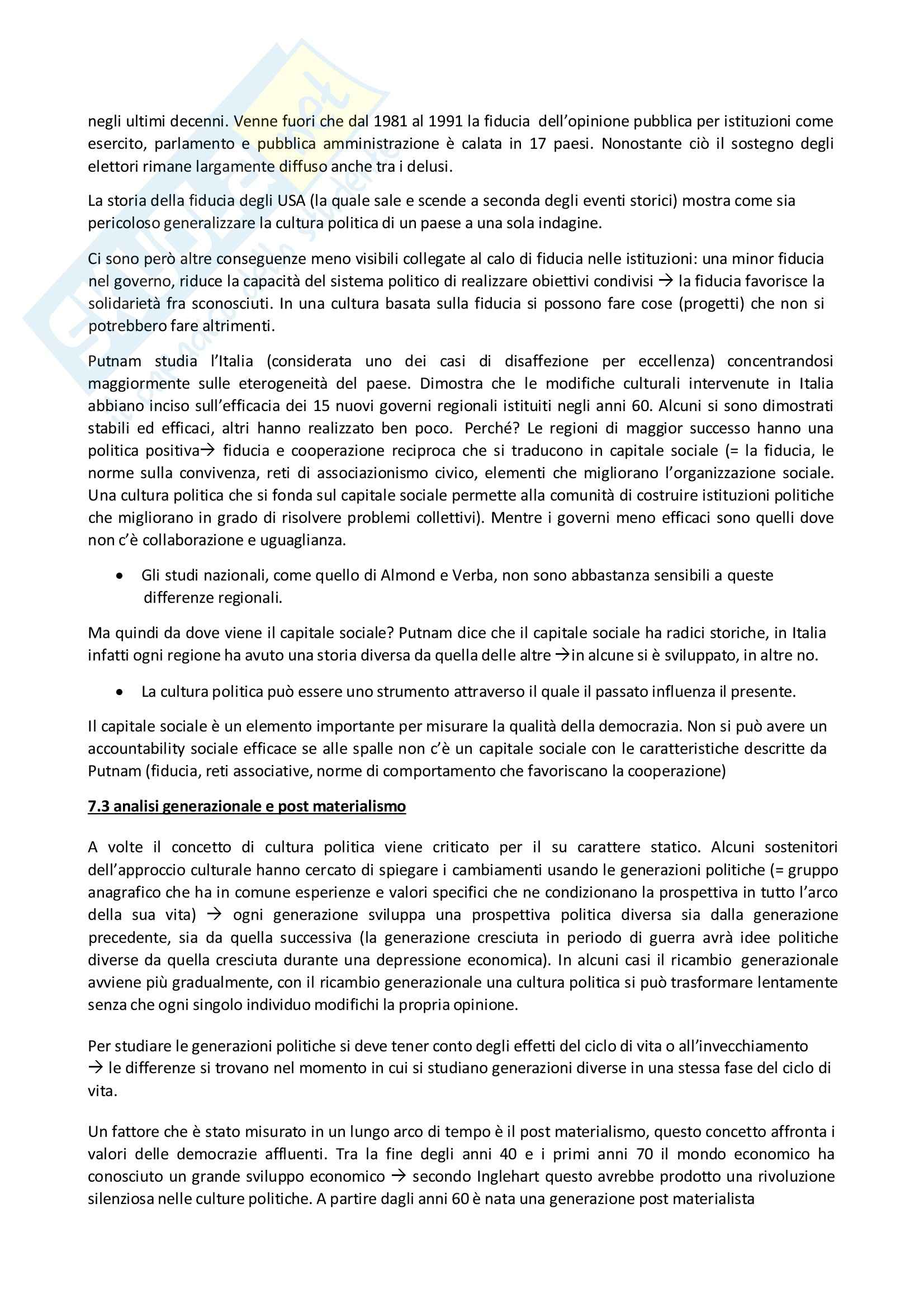 Riassunto esame Scienza politica, prof. Giannetti, libro consigliato Manuale di Scienza Politica Hagu, Harrop Pag. 21