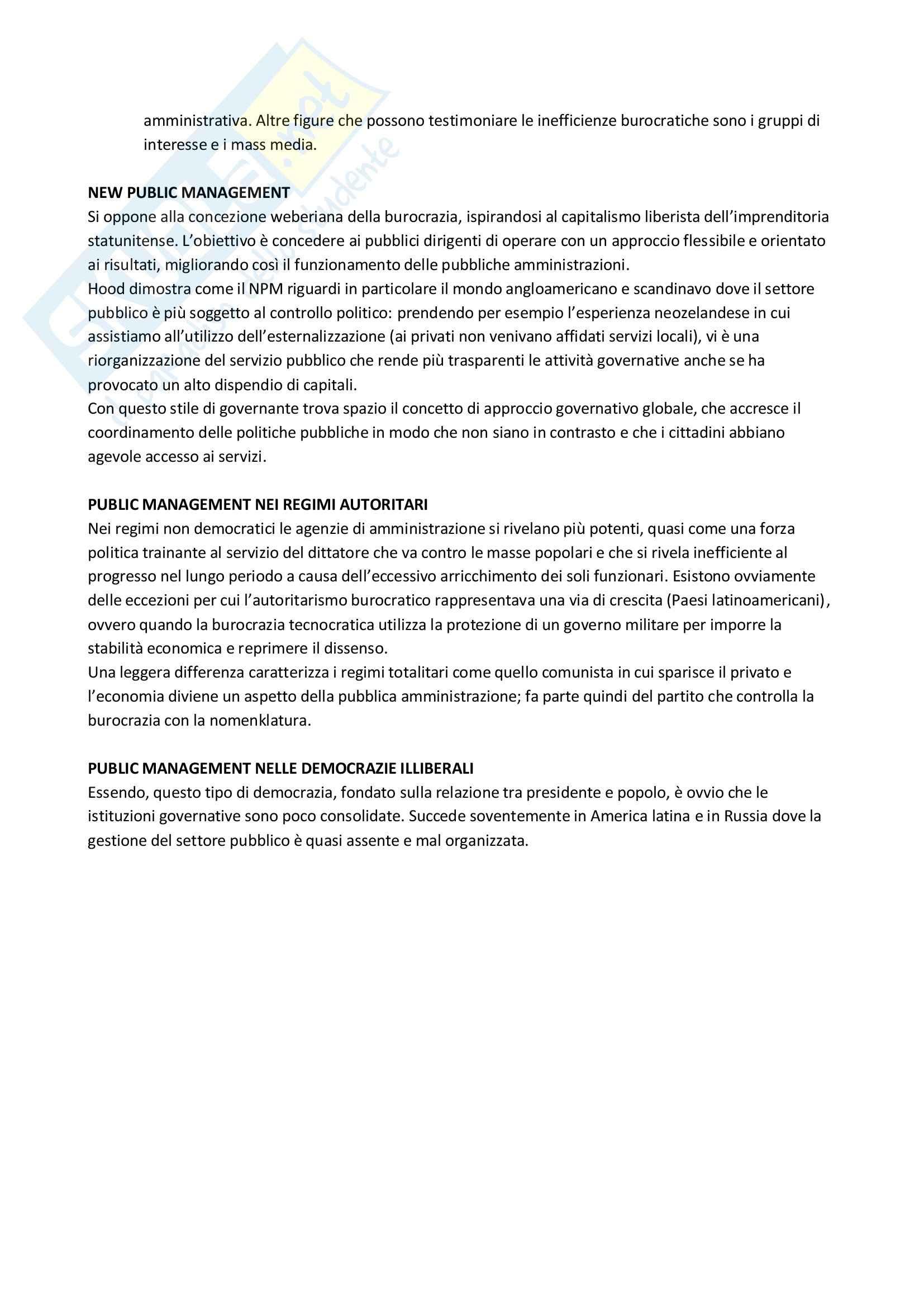 Riassunto esame Scienza politica, prof. Giannetti, libro consigliato Manuale di Scienza Politica Hagu, Harrop Pag. 71