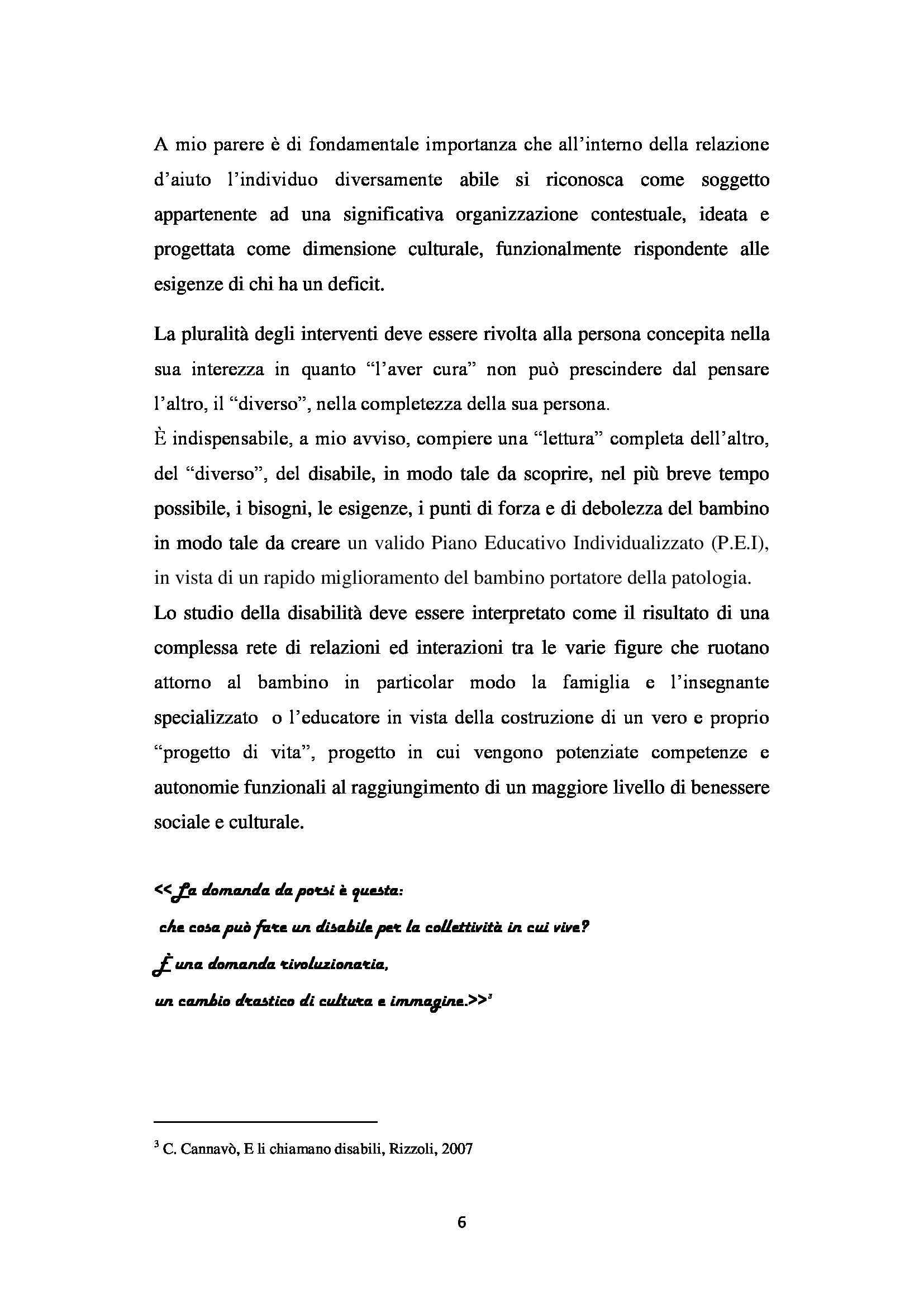 Tesi - Autismo Pag. 6