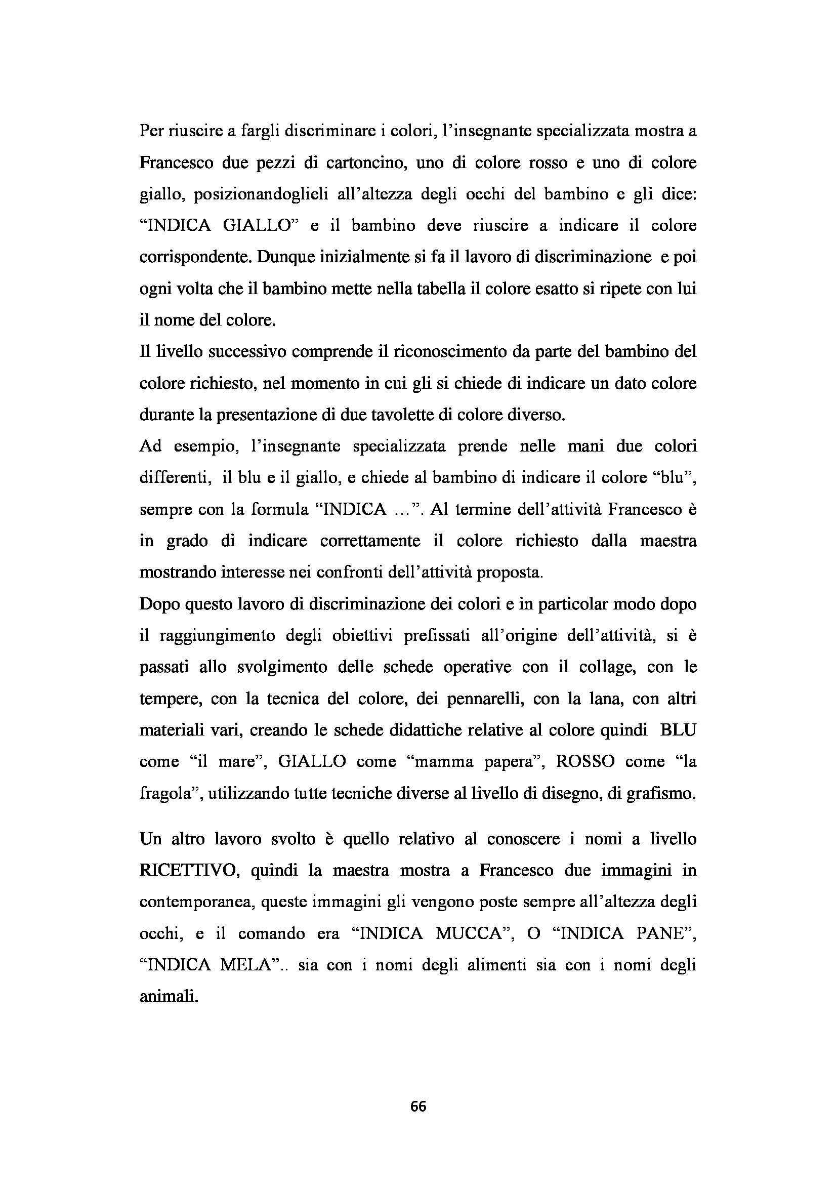 Tesi - Autismo Pag. 66