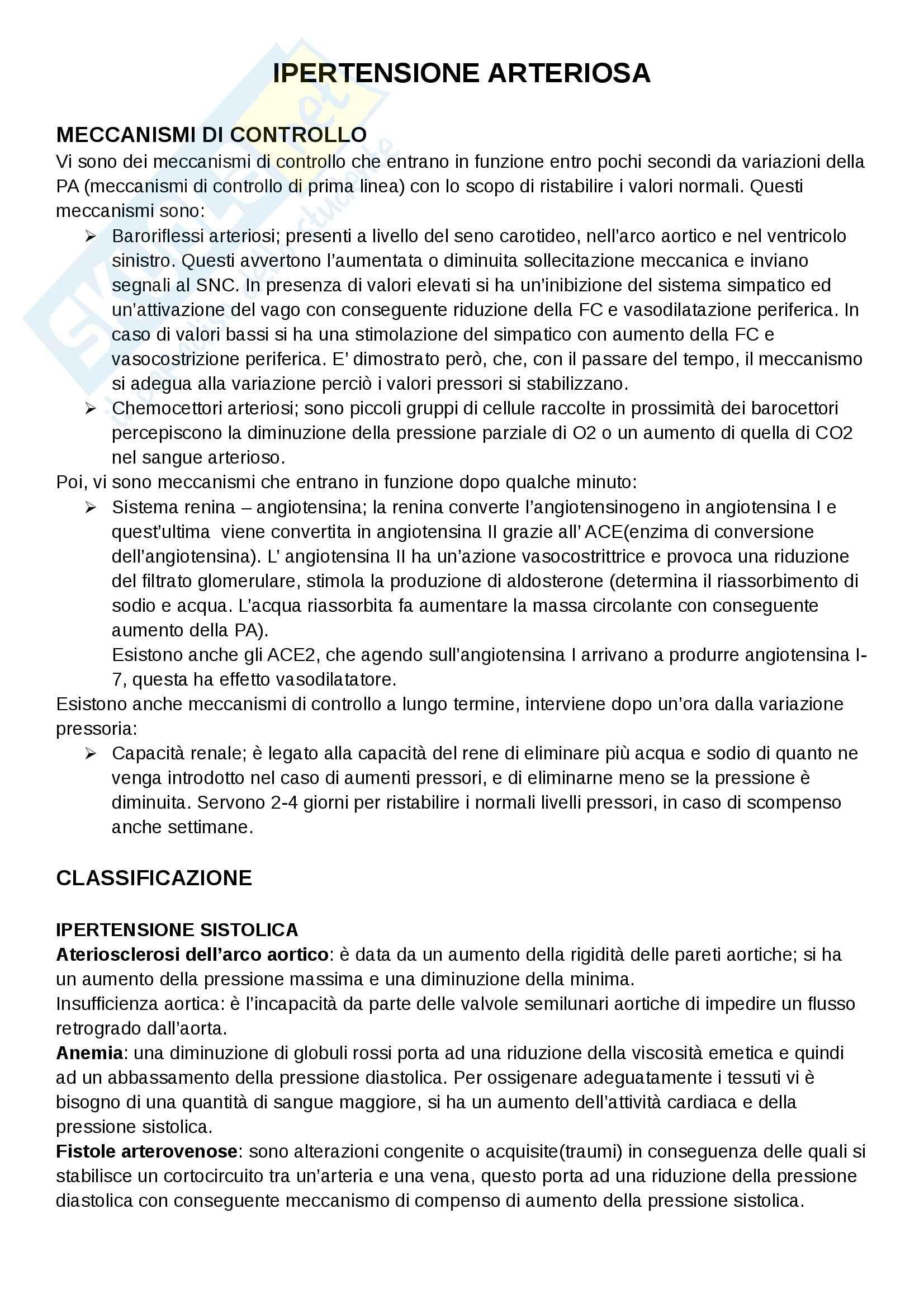 appunto A. Agnelli Medicina generale