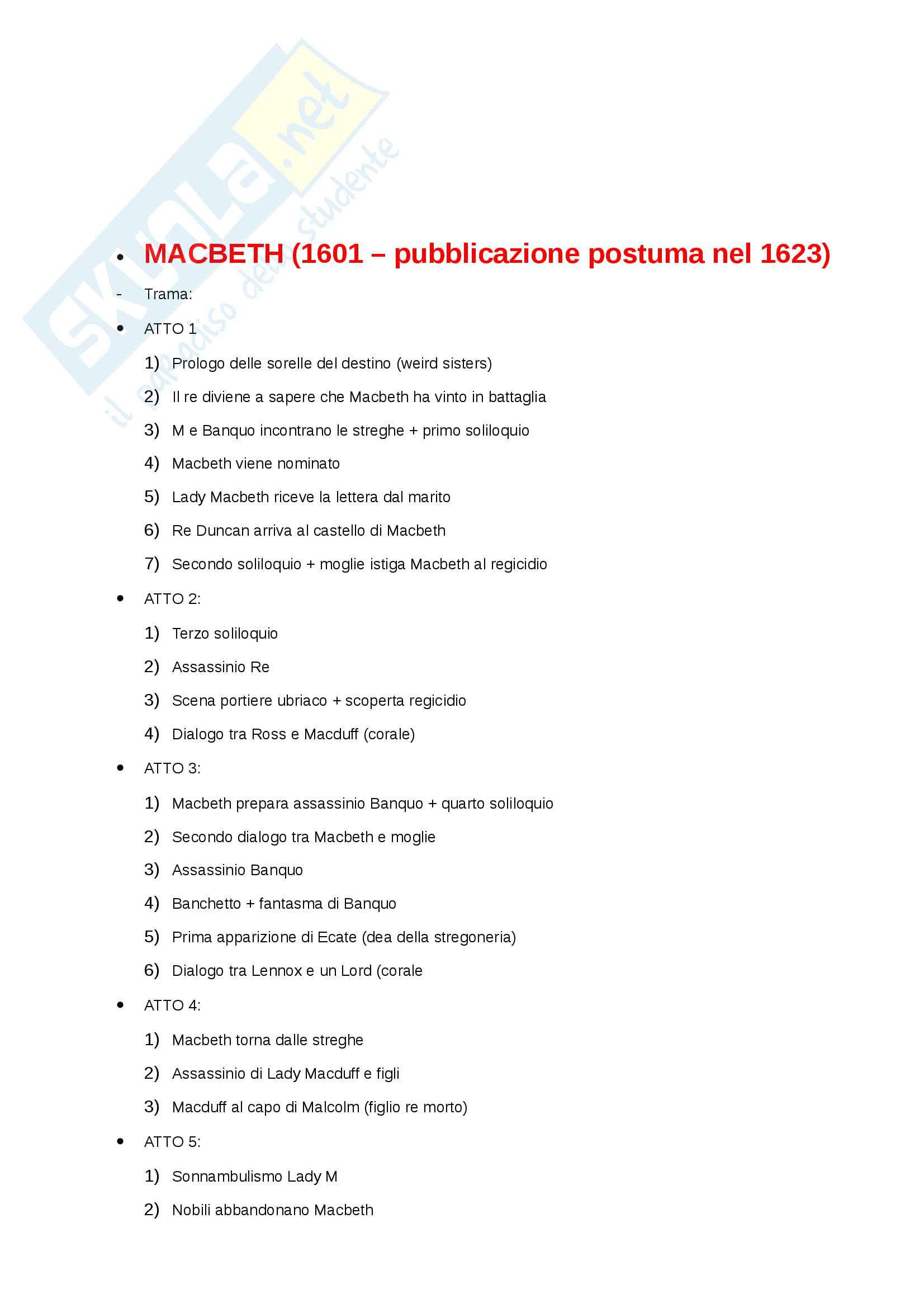 Riassunto esame Letteratura Inglese 2, prof. Partenza Pag. 61