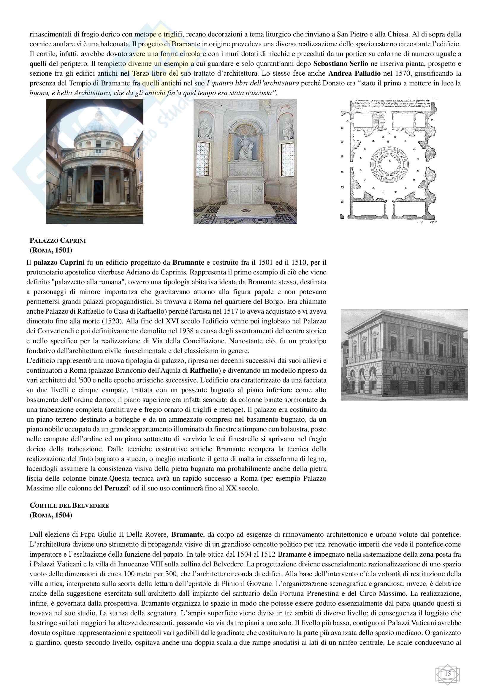 Storia dell'architettura moderna Pag. 16