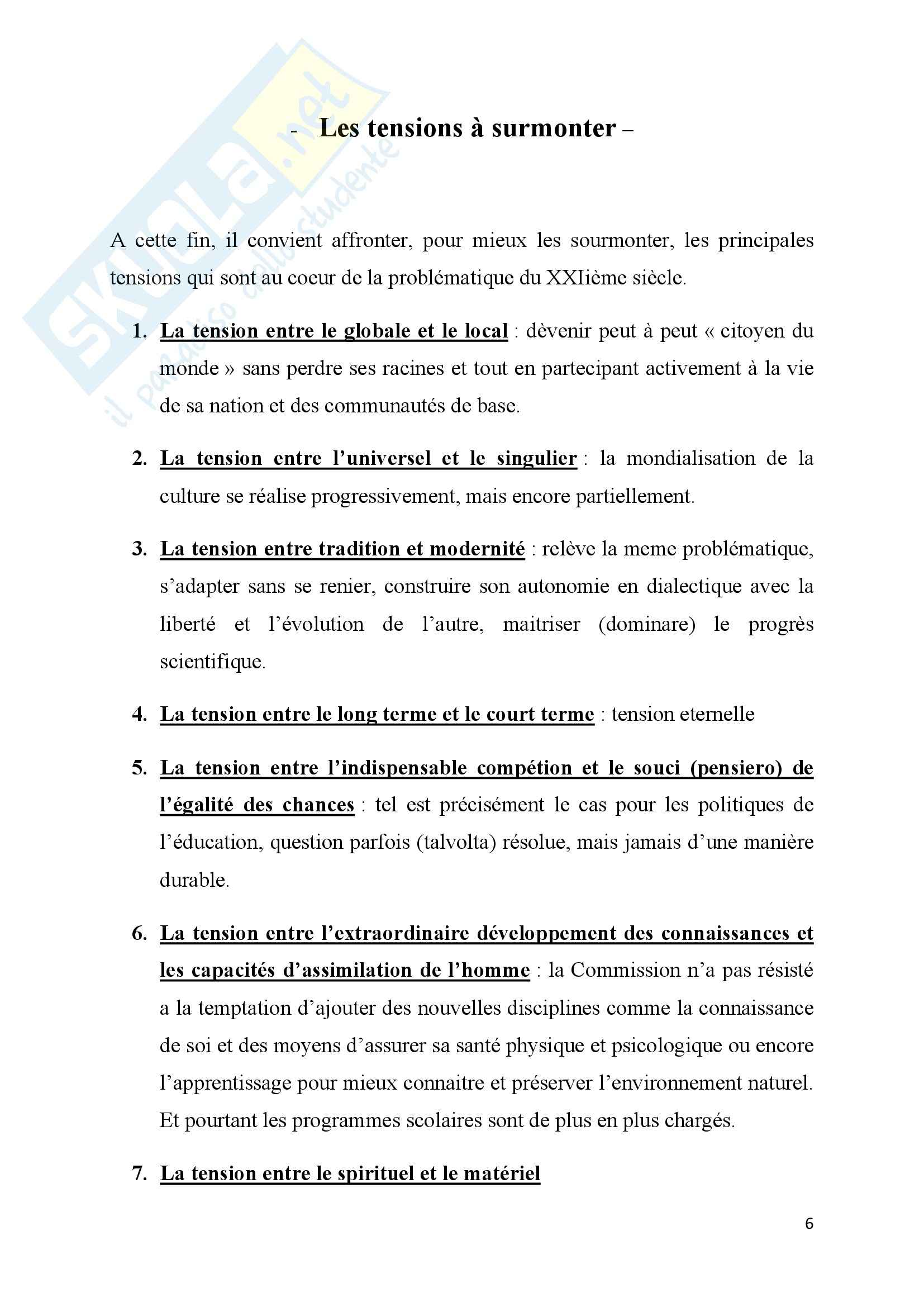 Lingua e letteratura Francese Pag. 6