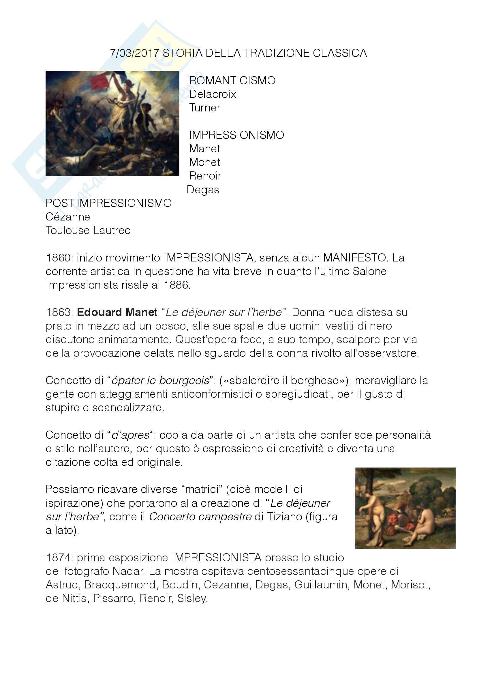 """Concetto di """"épater le bourgeois"""" («sbalordire il borghese») Lezione del 7/03/2017"""