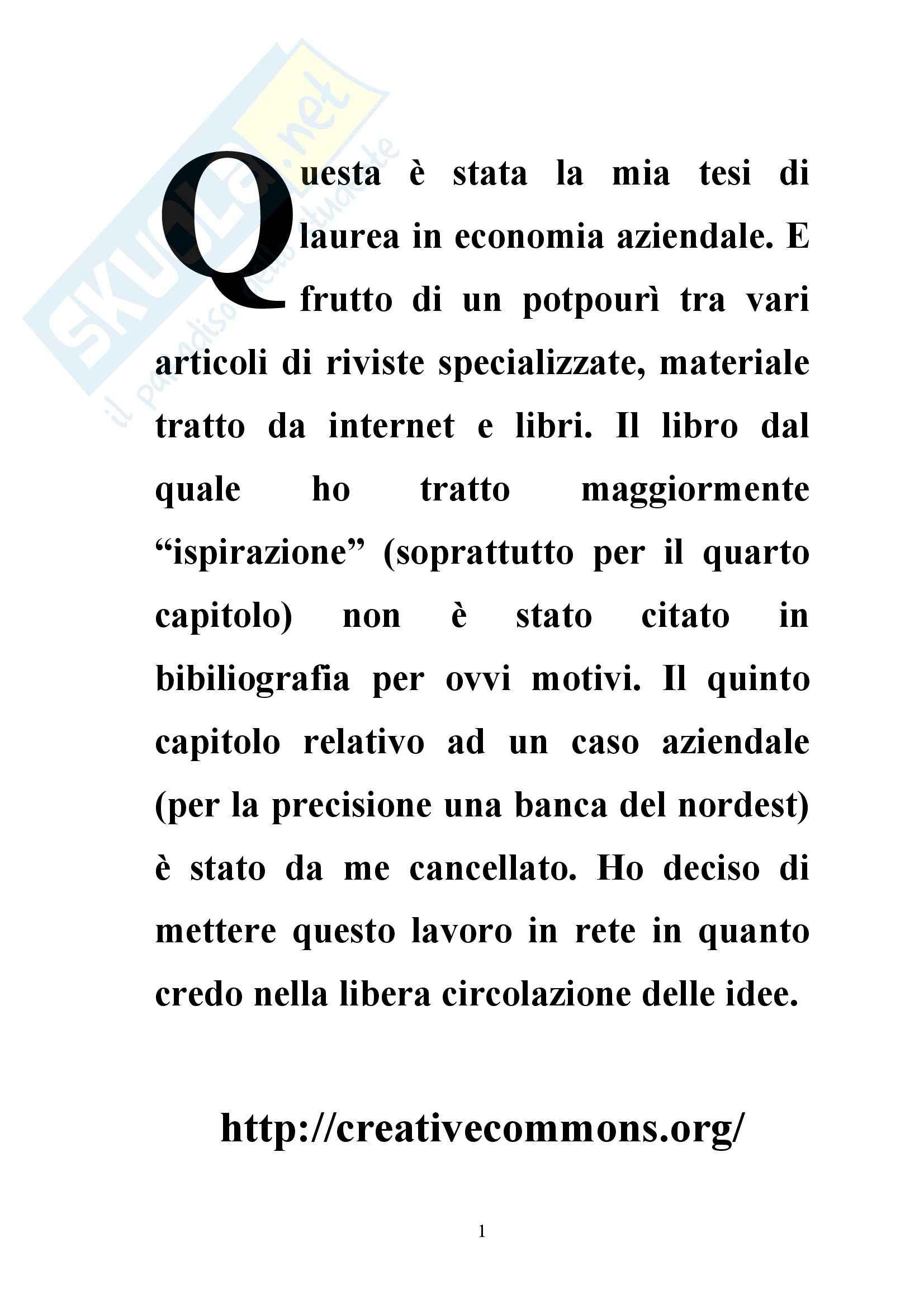 appunto P. Chirulli Outsourcing strategico