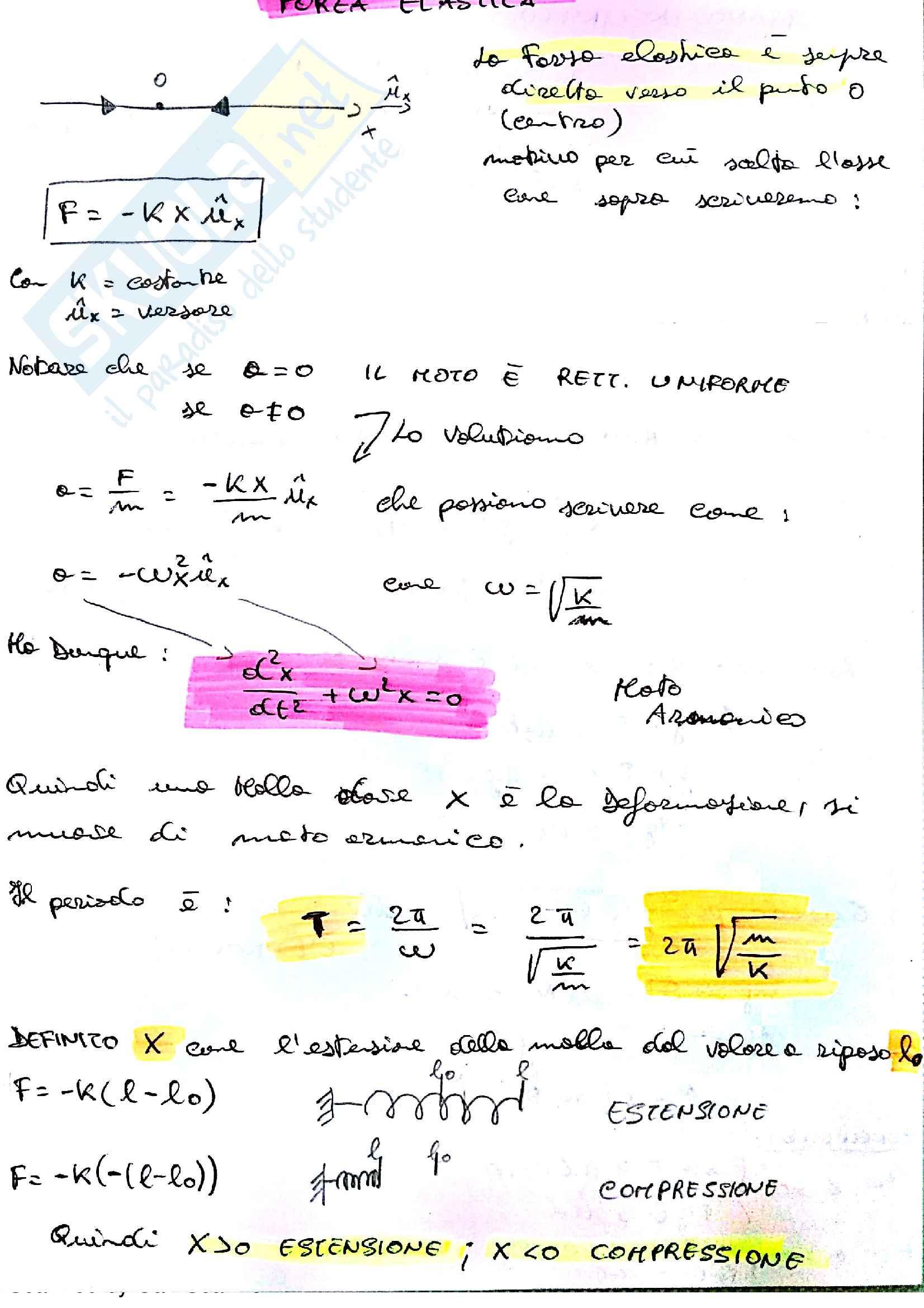 Fisica 1 , Ghigo Gianluca, Appunti + QUIZ Esame + Temi Esame (Polito) Pag. 31