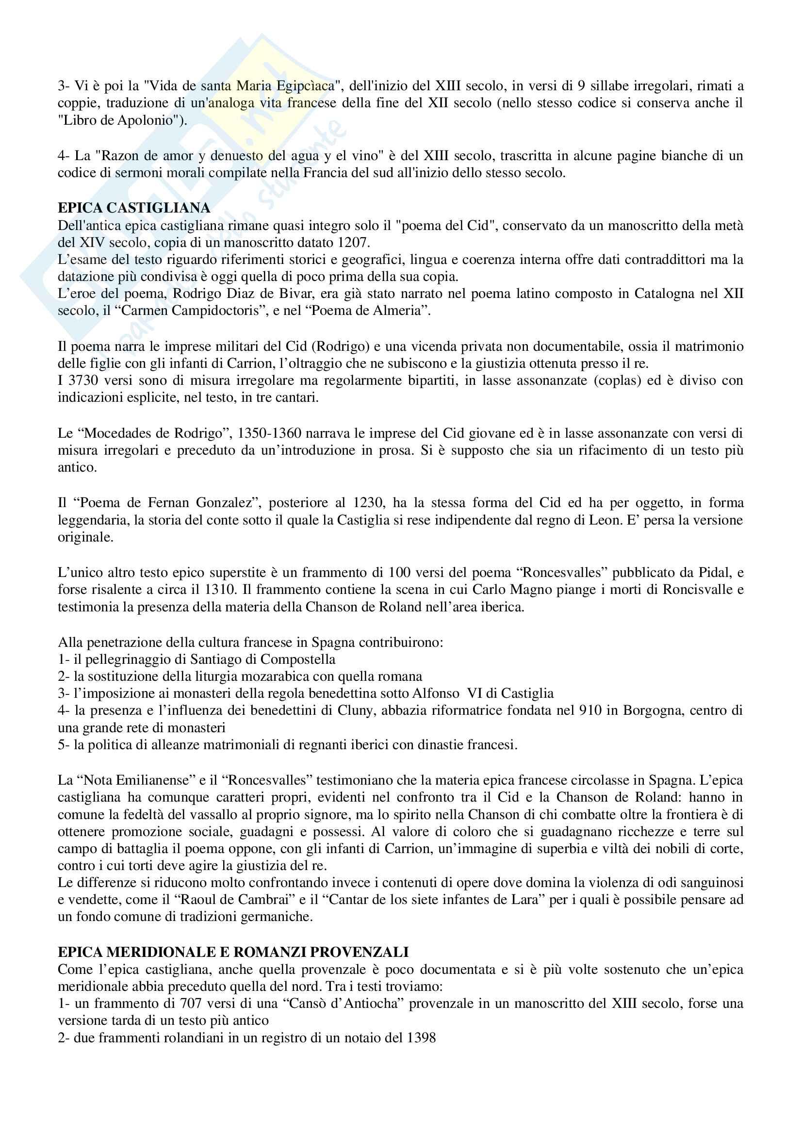 Riassunto per esame Filologia romanza, prof Paradisi, libro consigliato: La filologia romanza, Beltrami, 2017 Pag. 36