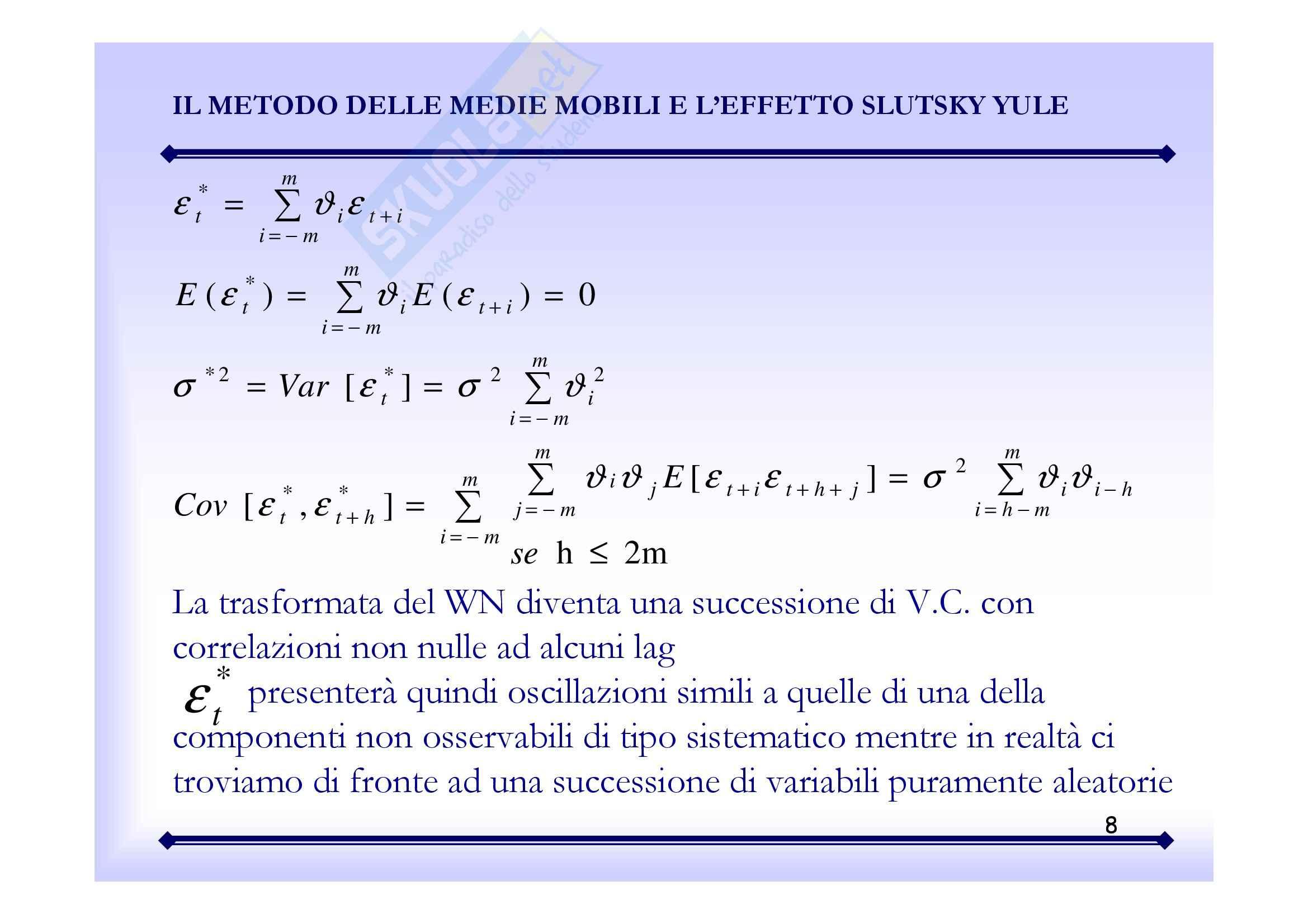 Statistica economica - analisi delle serie storiche Pag. 36