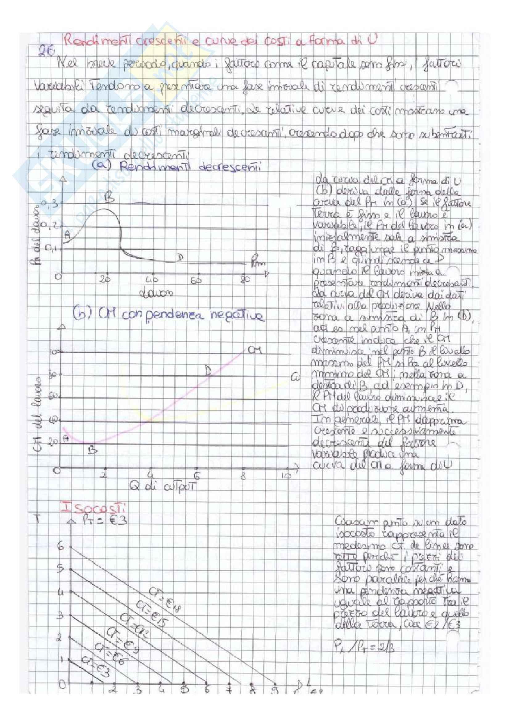 Riassunto esame Economia politica, prof. Salsano, libro consigliato Economia politica, Samuelson, Nordaus, Bollino, diciannovesima edizione Pag. 26