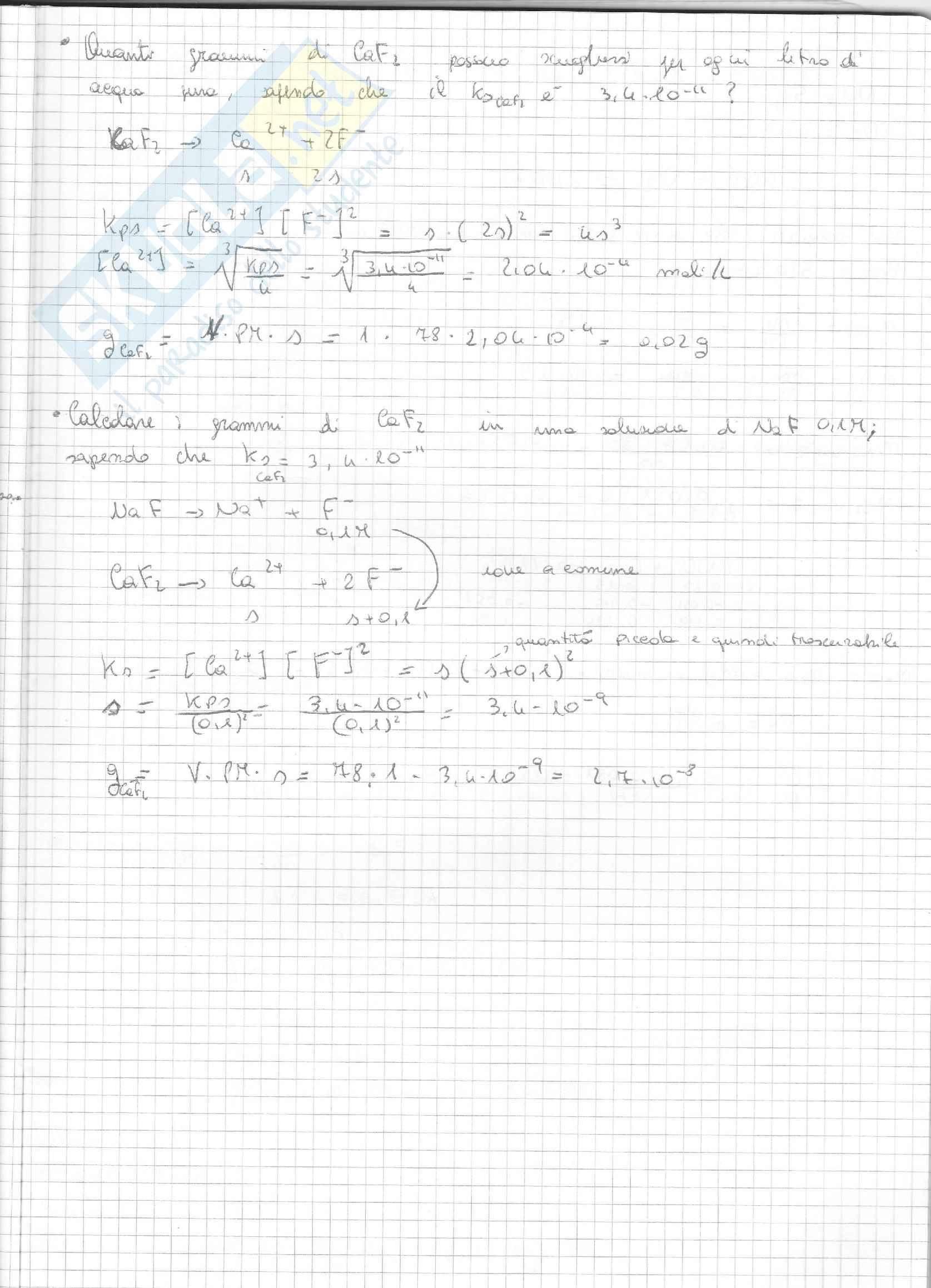 Esercizi Svolti Di Chimica Inorganica Pag. 16