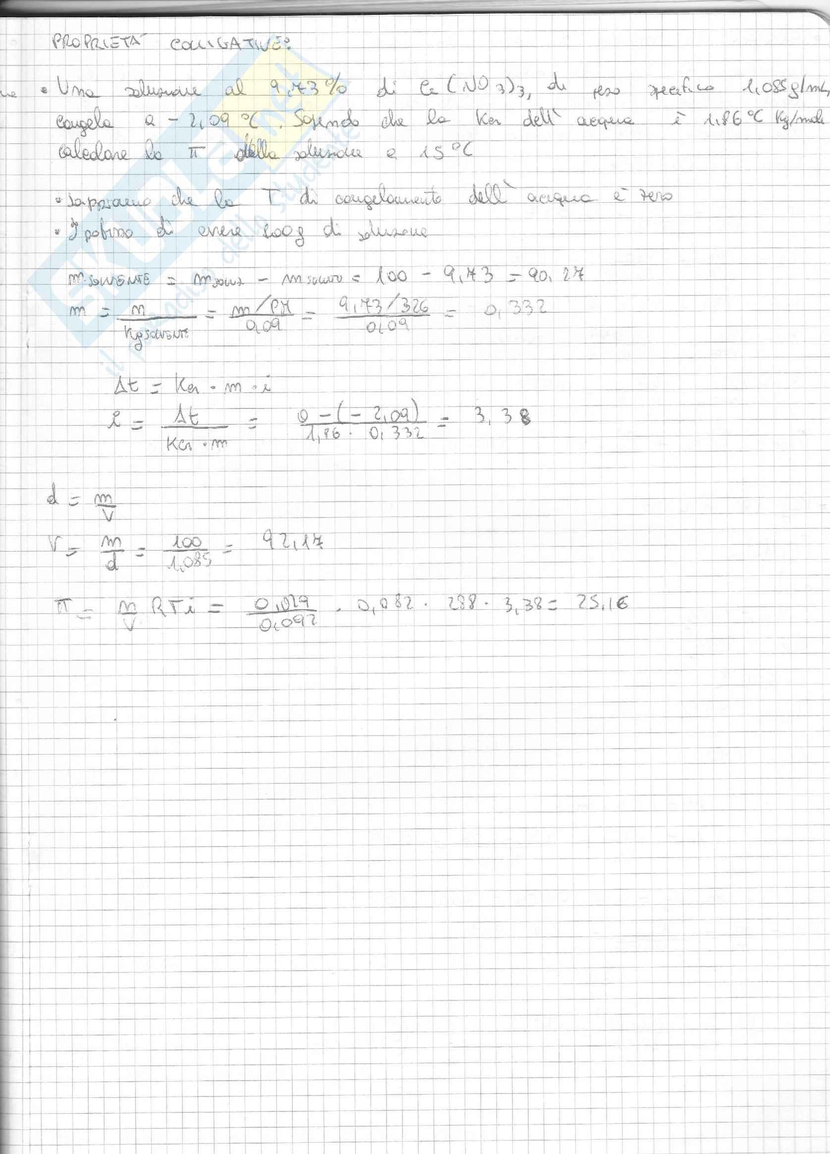 Esercizi Svolti Di Chimica Inorganica Pag. 31