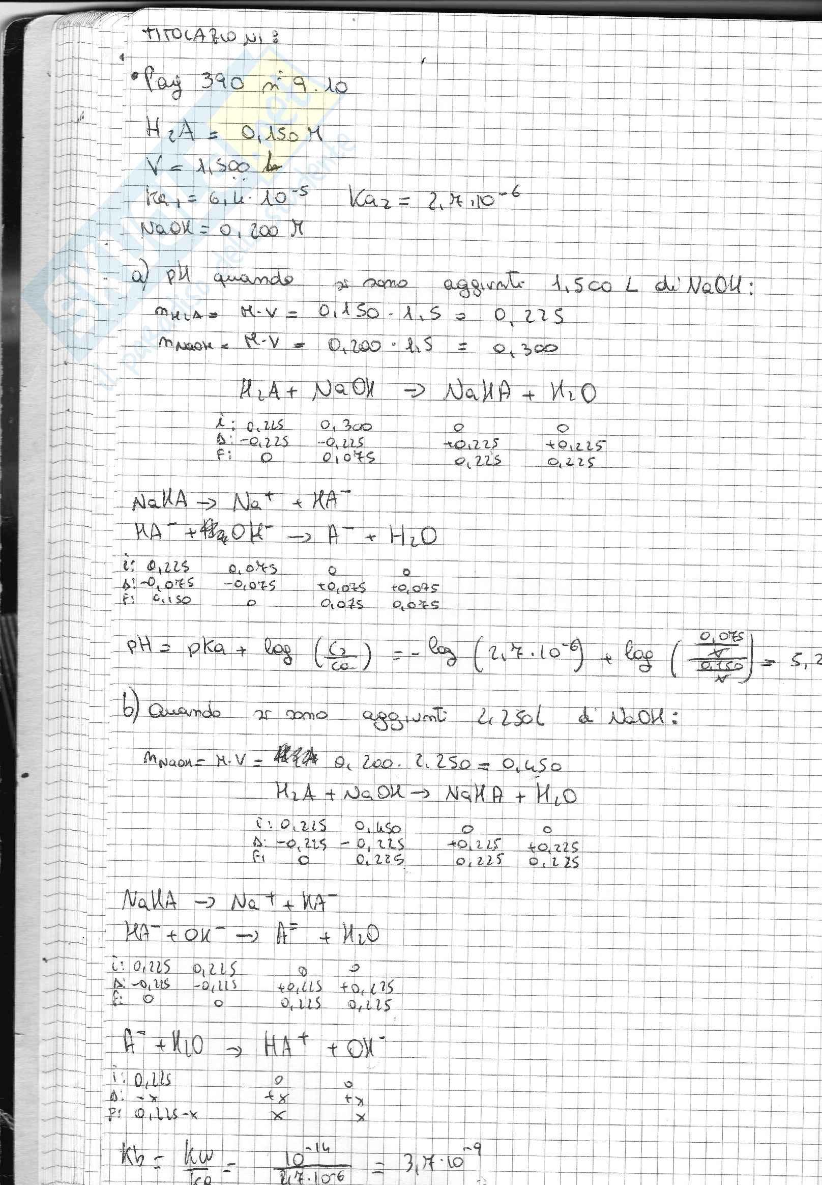 Esercizi Svolti Di Chimica Inorganica Pag. 41