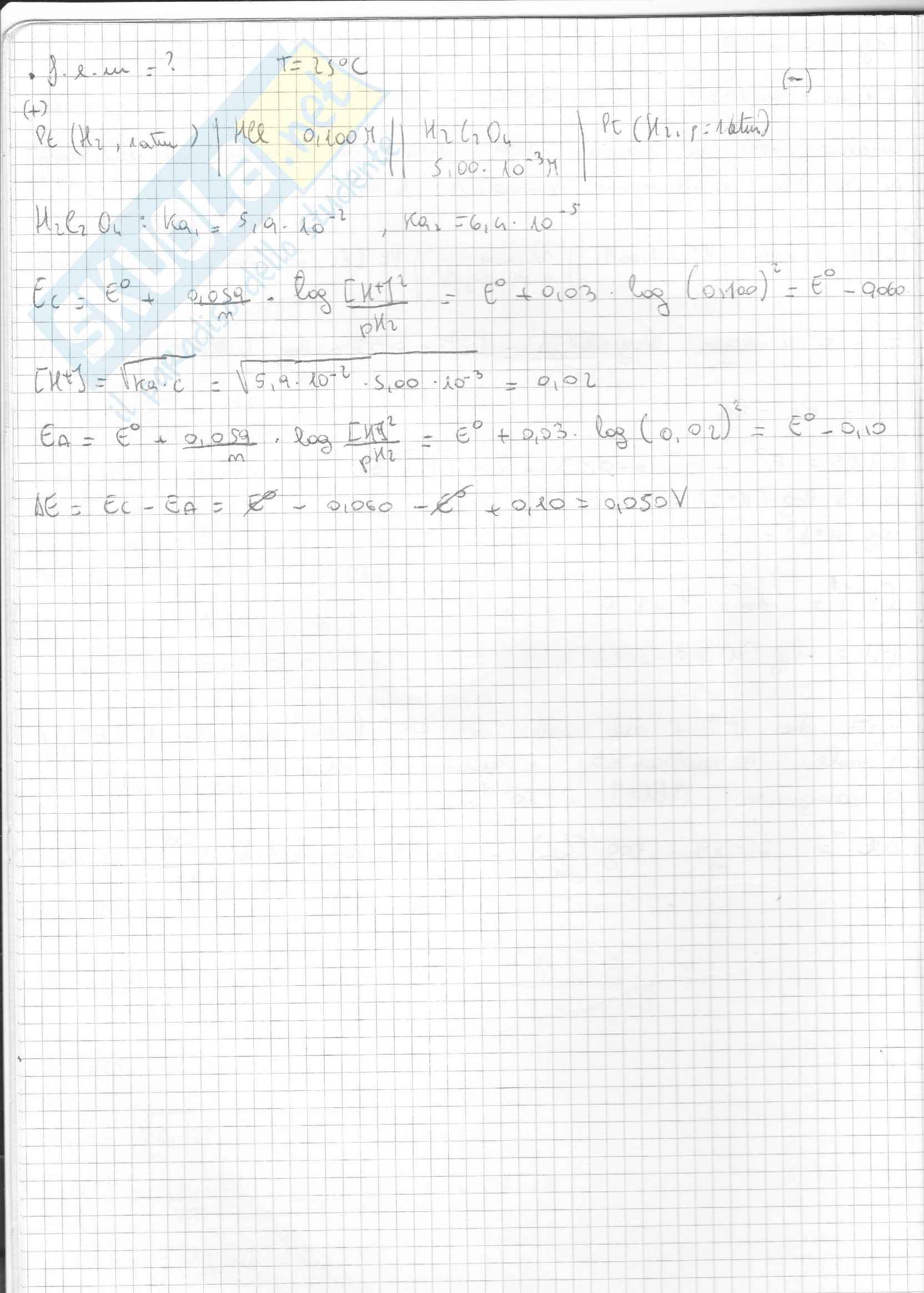 Esercizi Svolti Di Chimica Inorganica Pag. 6