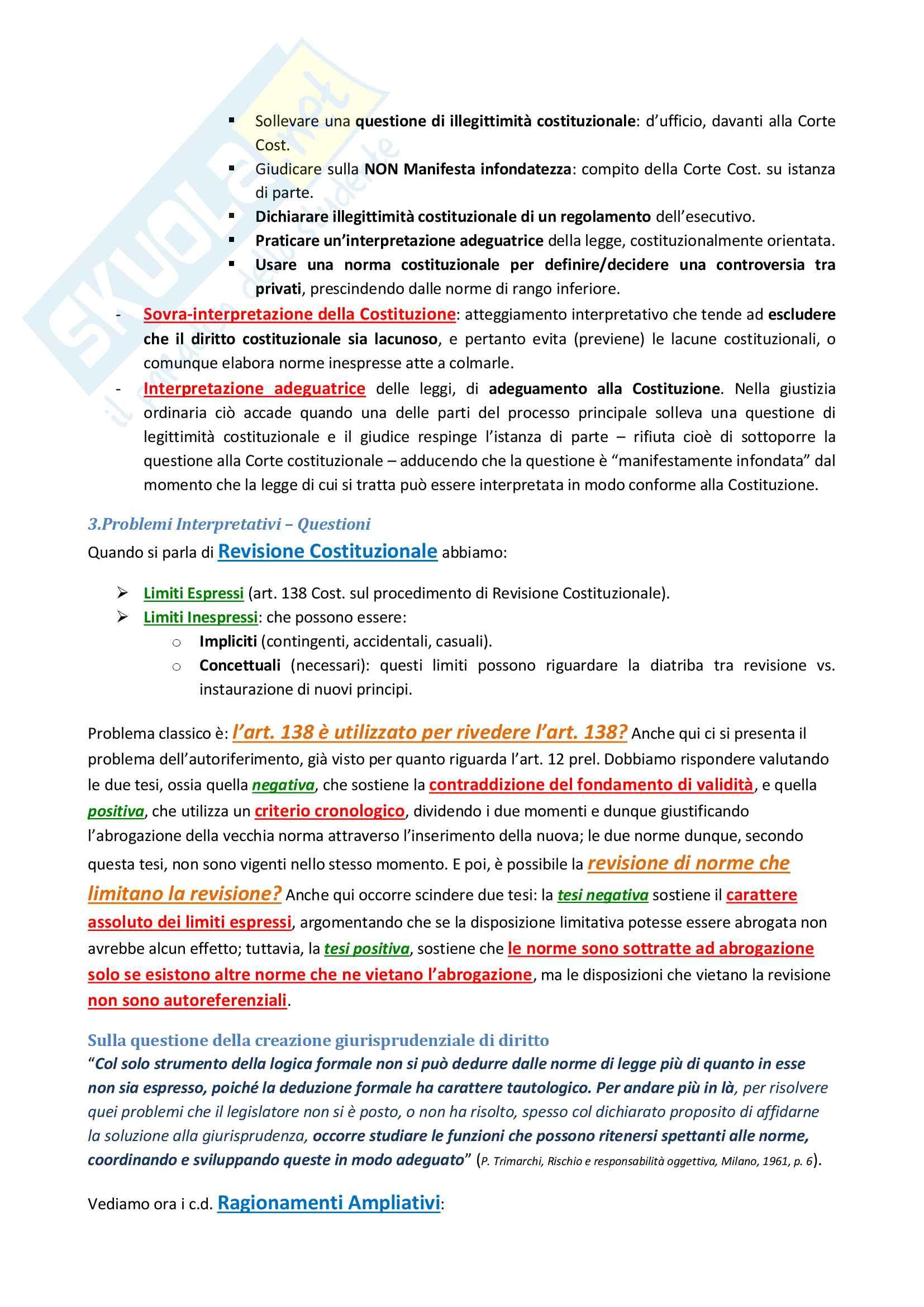 Appunti completi lezioni del Prof. Ratti di Tecniche dell'interpretazione e dell'argomentazione Pag. 21