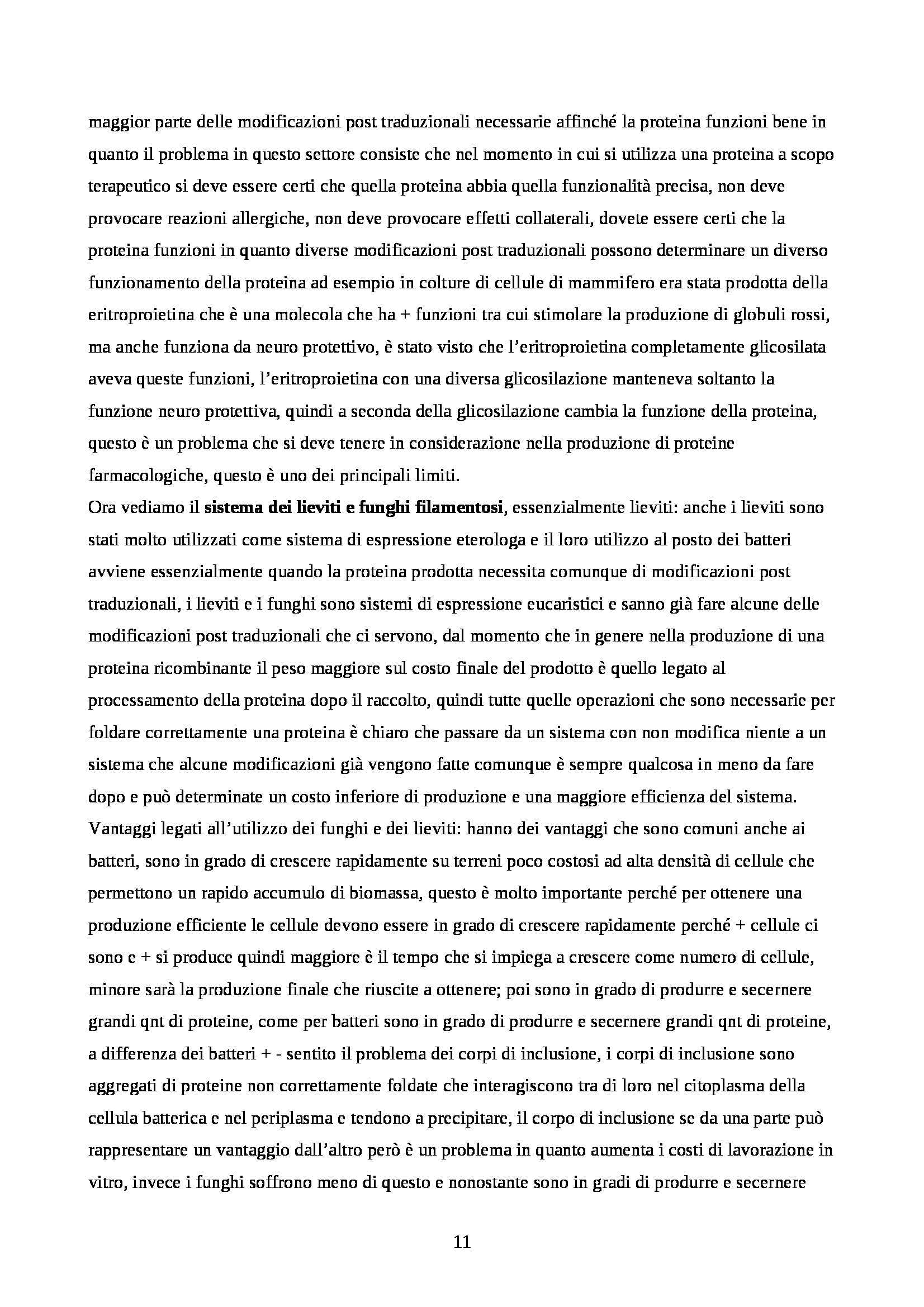 Biotecnologie agro-mediche - Appunti Pag. 11