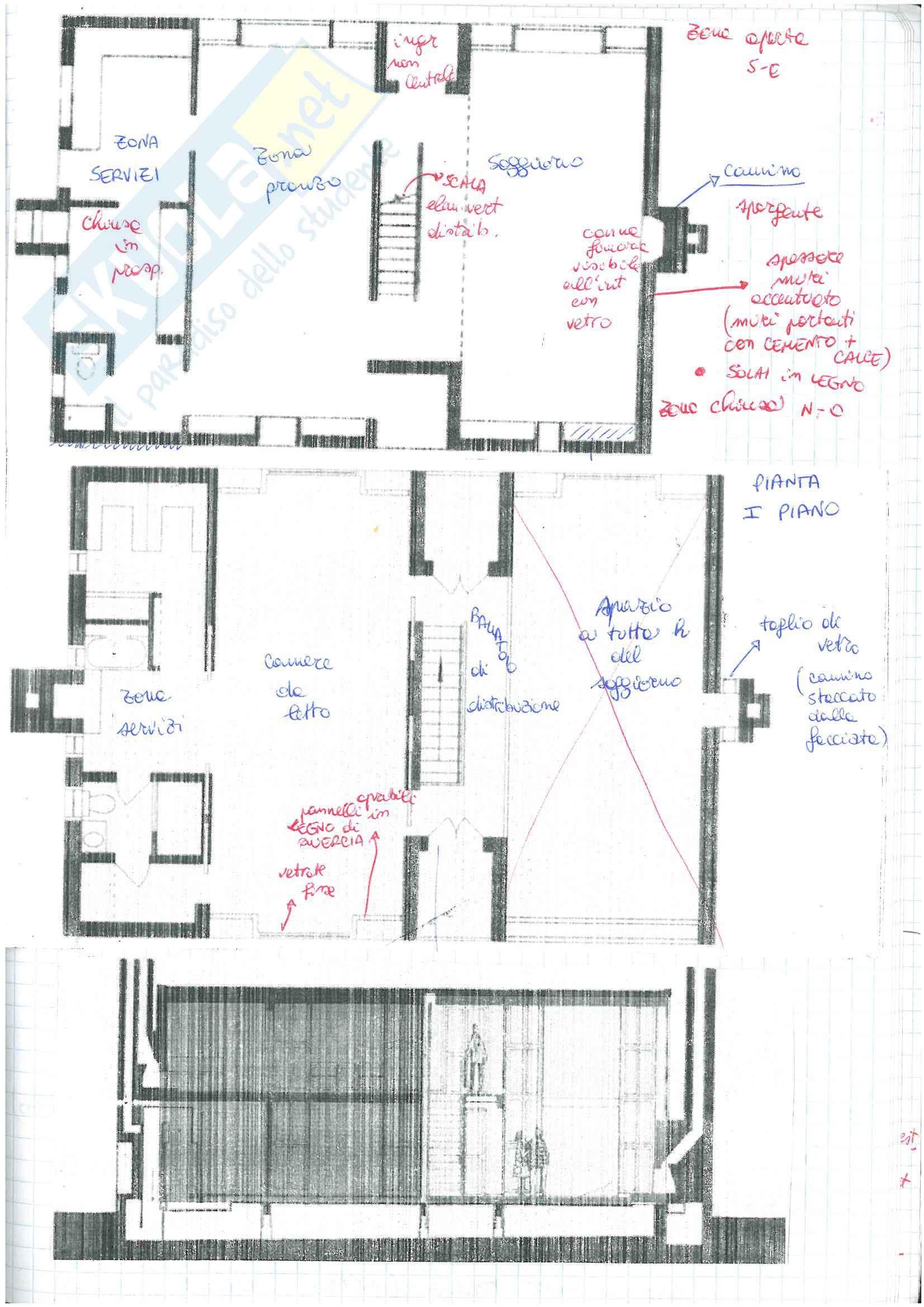 (1/3)   Appunti presi a lezione di Architettura e Composizione architettonica 1 con laboratorio progettuale tenuto dal prof. F. Cutroni Pag. 71
