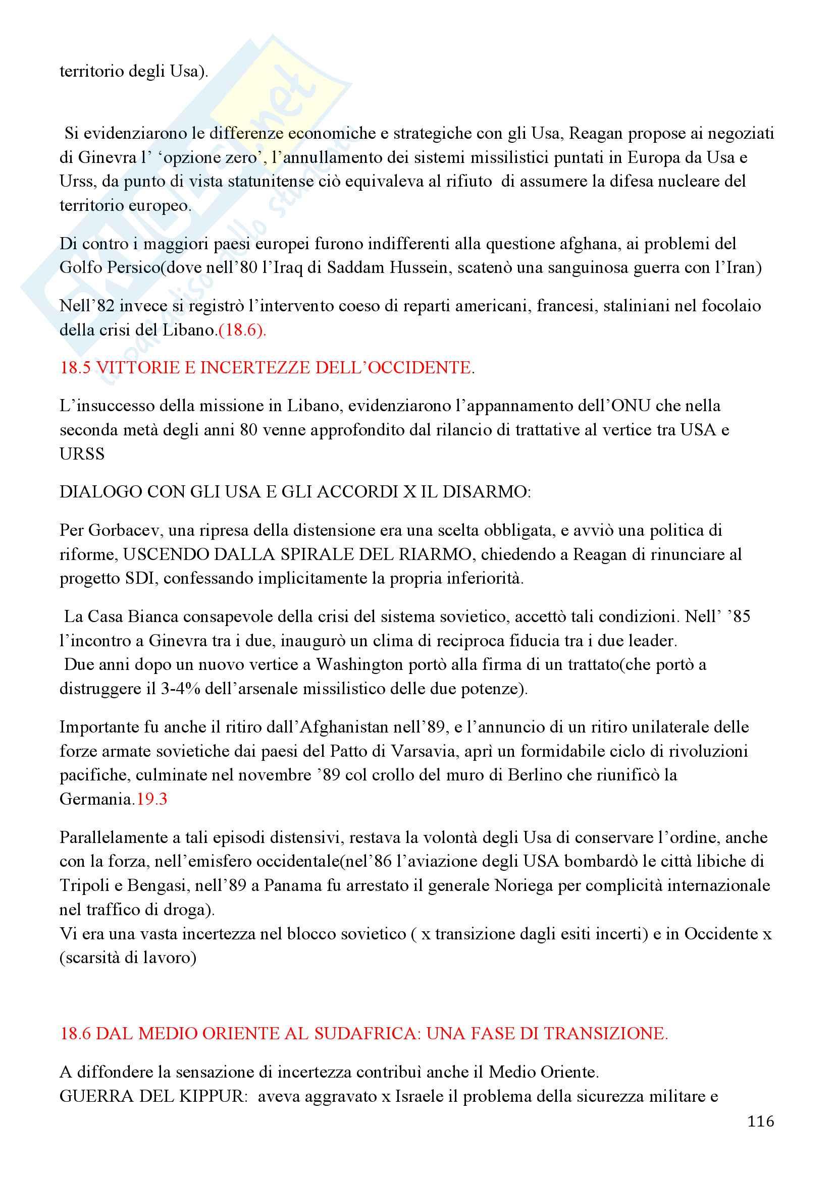Storia Contemporanea, Detti, Gozzini il Novecento - Riassunto Pag. 116