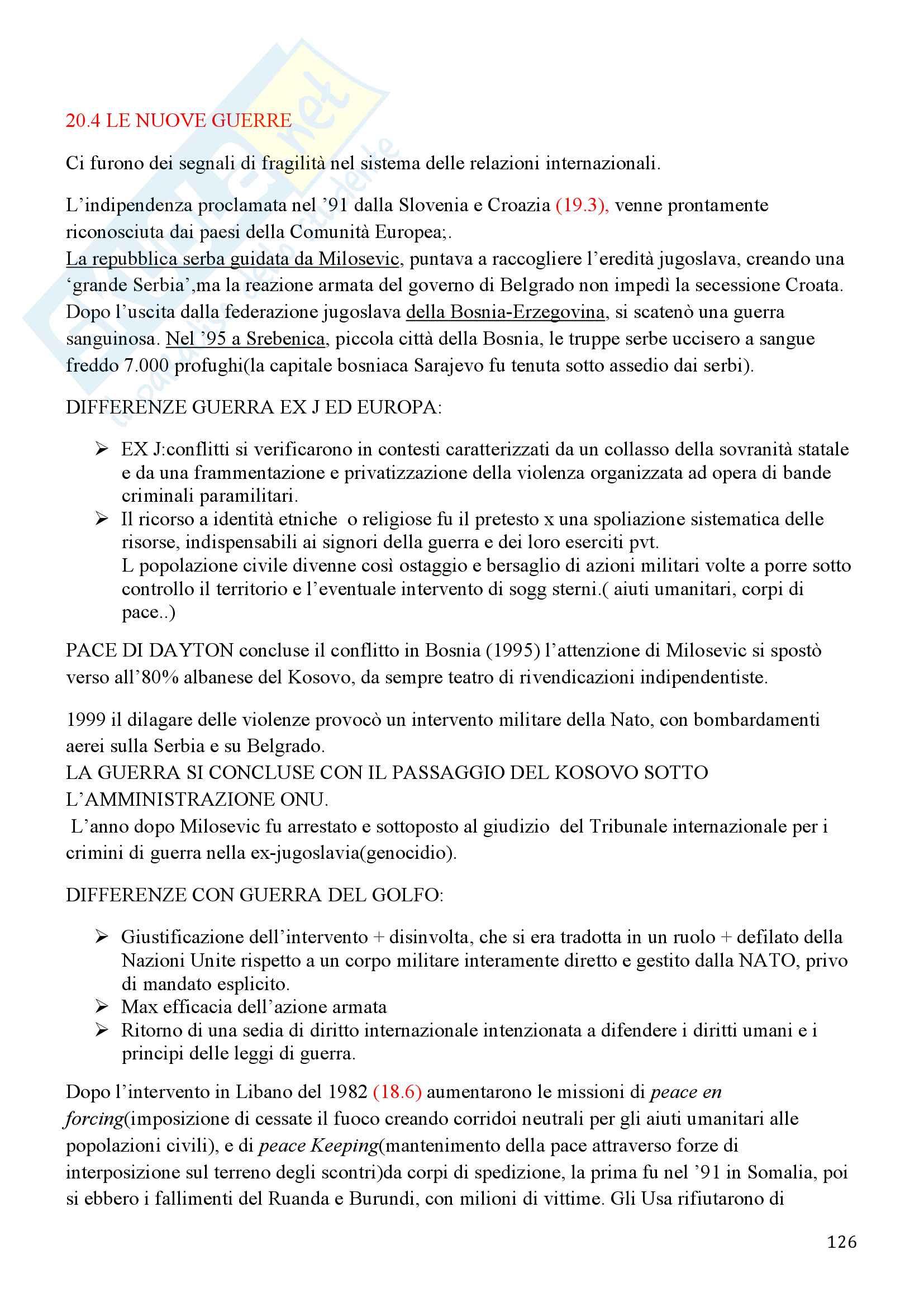 Storia Contemporanea, Detti, Gozzini il Novecento - Riassunto Pag. 126