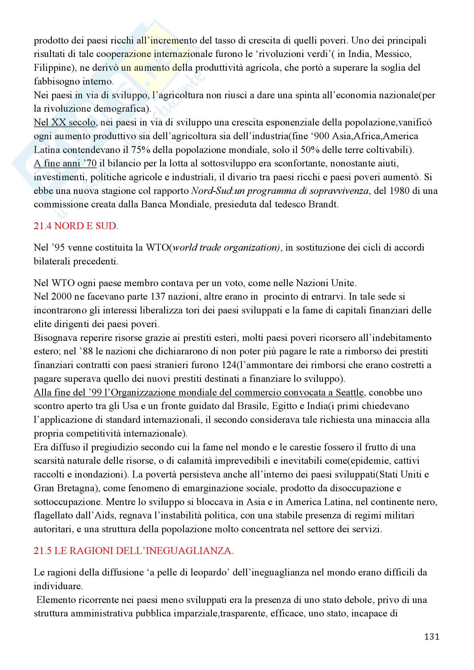 Storia Contemporanea, Detti, Gozzini il Novecento - Riassunto Pag. 131