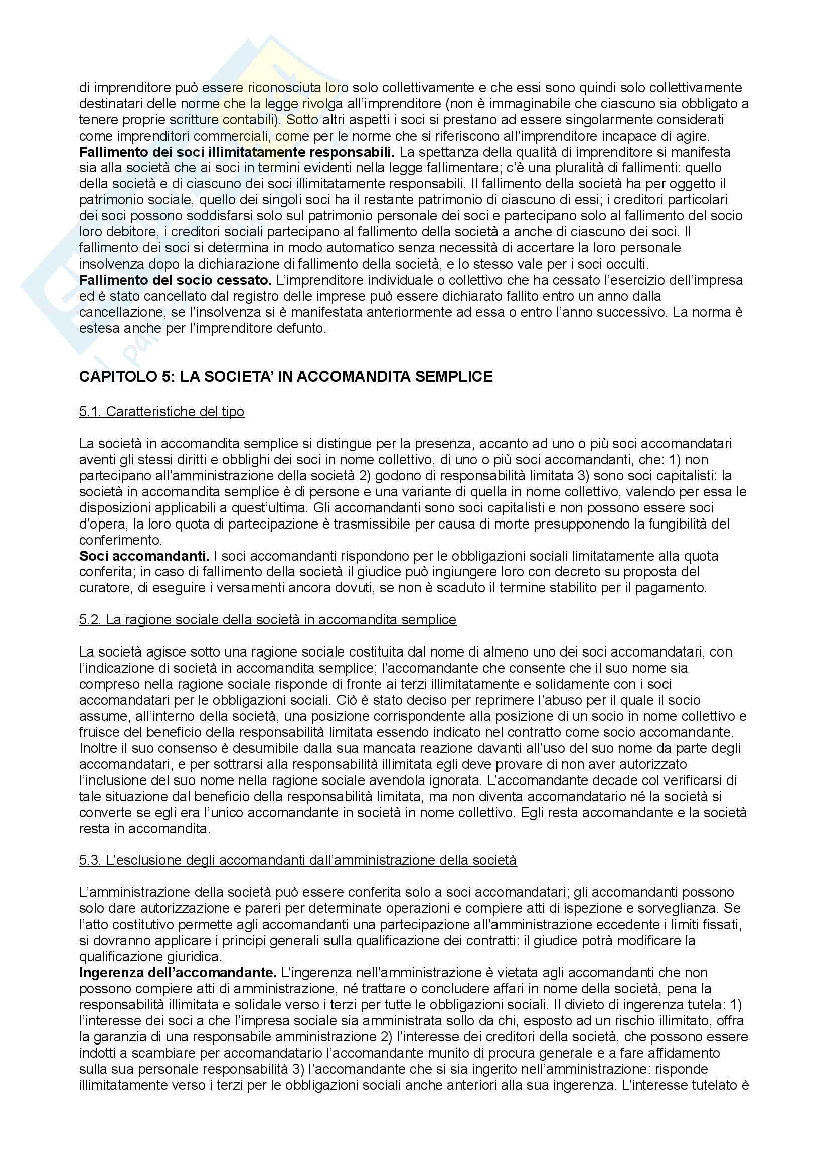 Riassunto esame Diritto Commerciale, prof. Arato, libro consigliato Diritto Commerciale di Galgano (parte I) Pag. 26