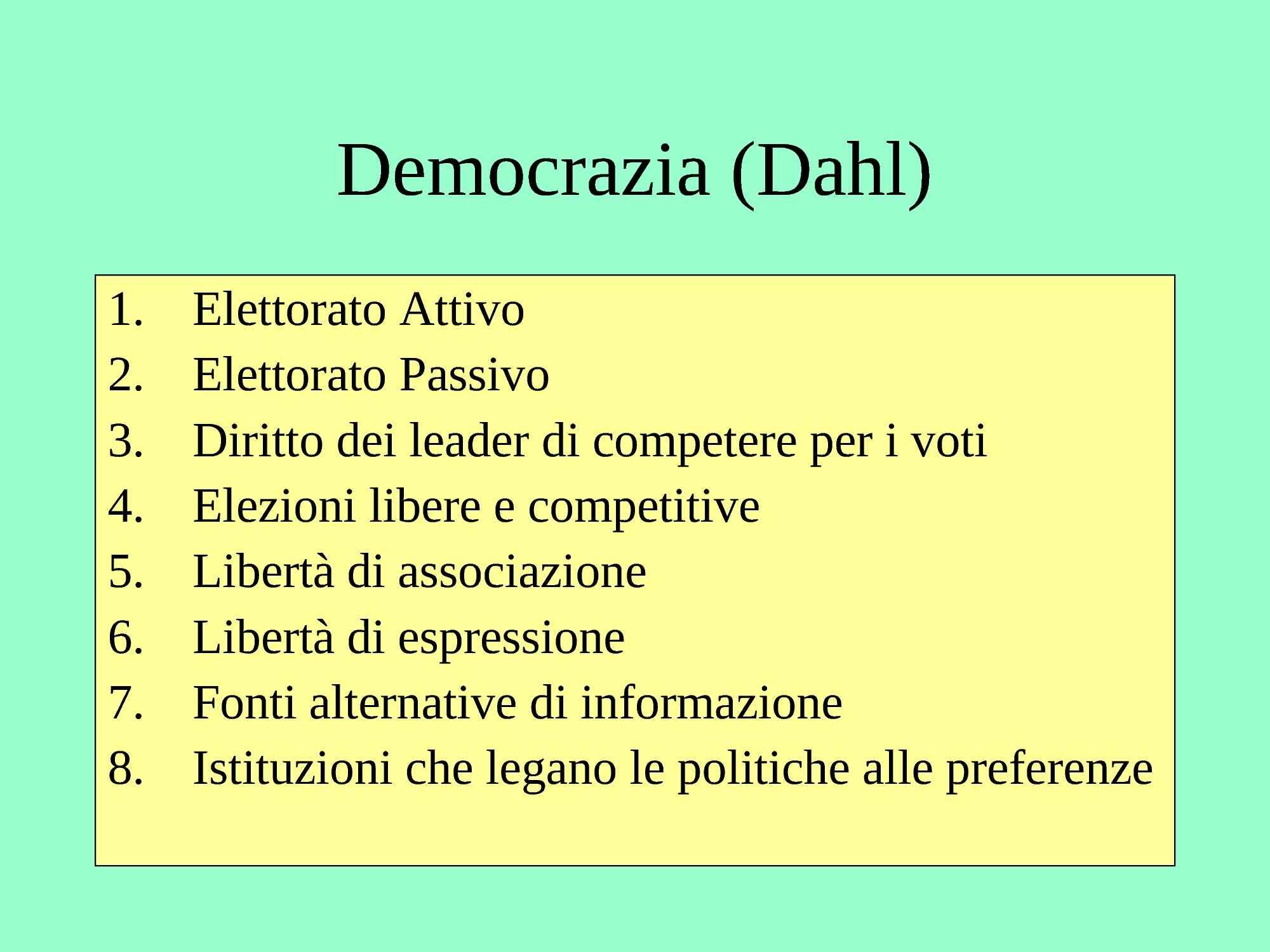 Democrazia - Dahl