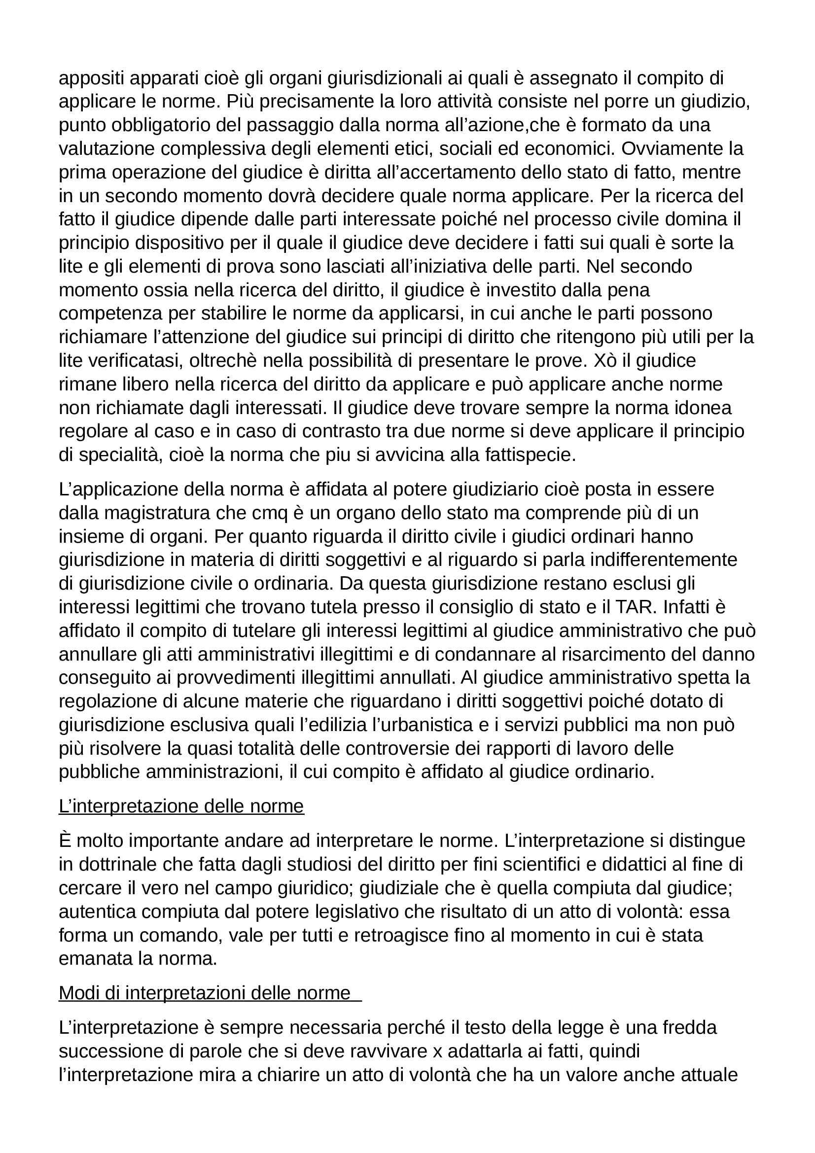 Riassunto esame Diritto Privato, prof. Botta, libro consigliato Istituzioni di Diritto Privato, Trabucchi Pag. 11