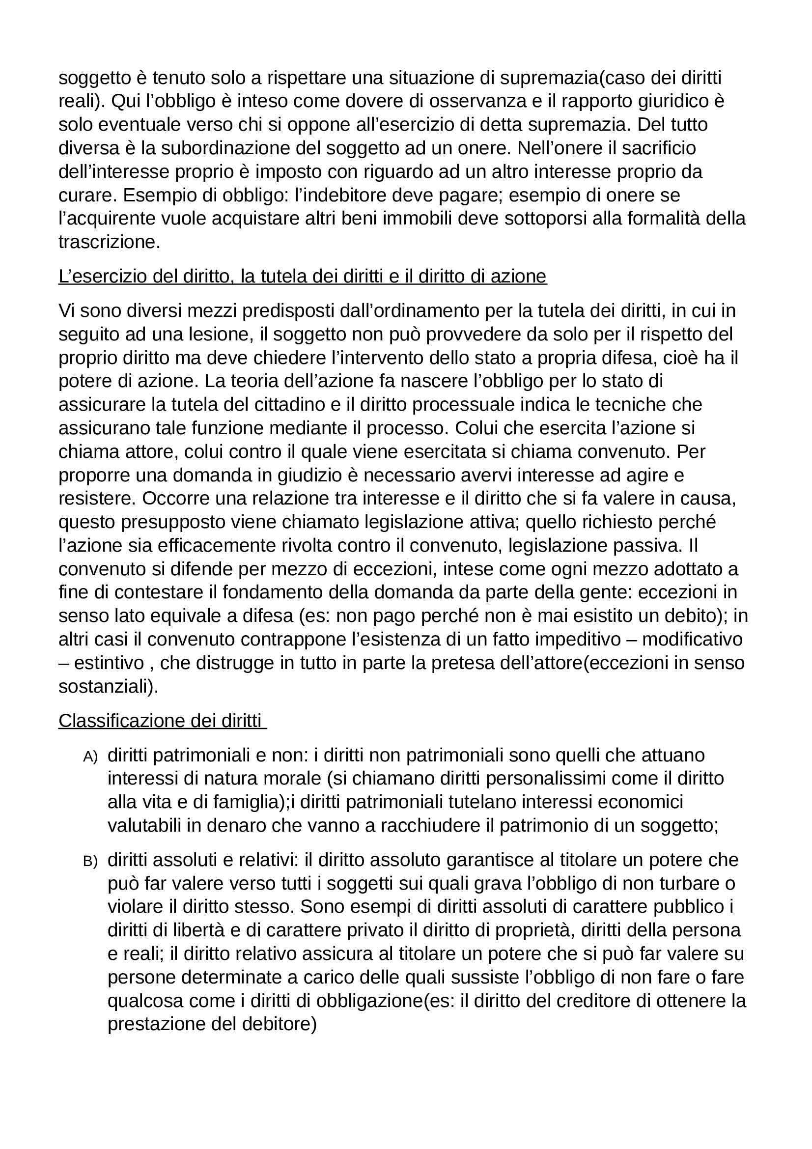 Riassunto esame Diritto Privato, prof. Botta, libro consigliato Istituzioni di Diritto Privato, Trabucchi Pag. 16