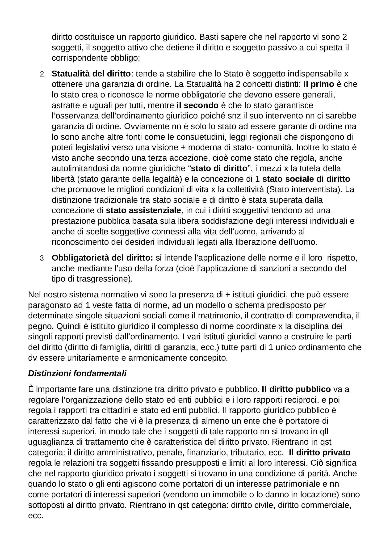 Riassunto esame Diritto Privato, prof. Botta, libro consigliato Istituzioni di Diritto Privato, Trabucchi Pag. 2