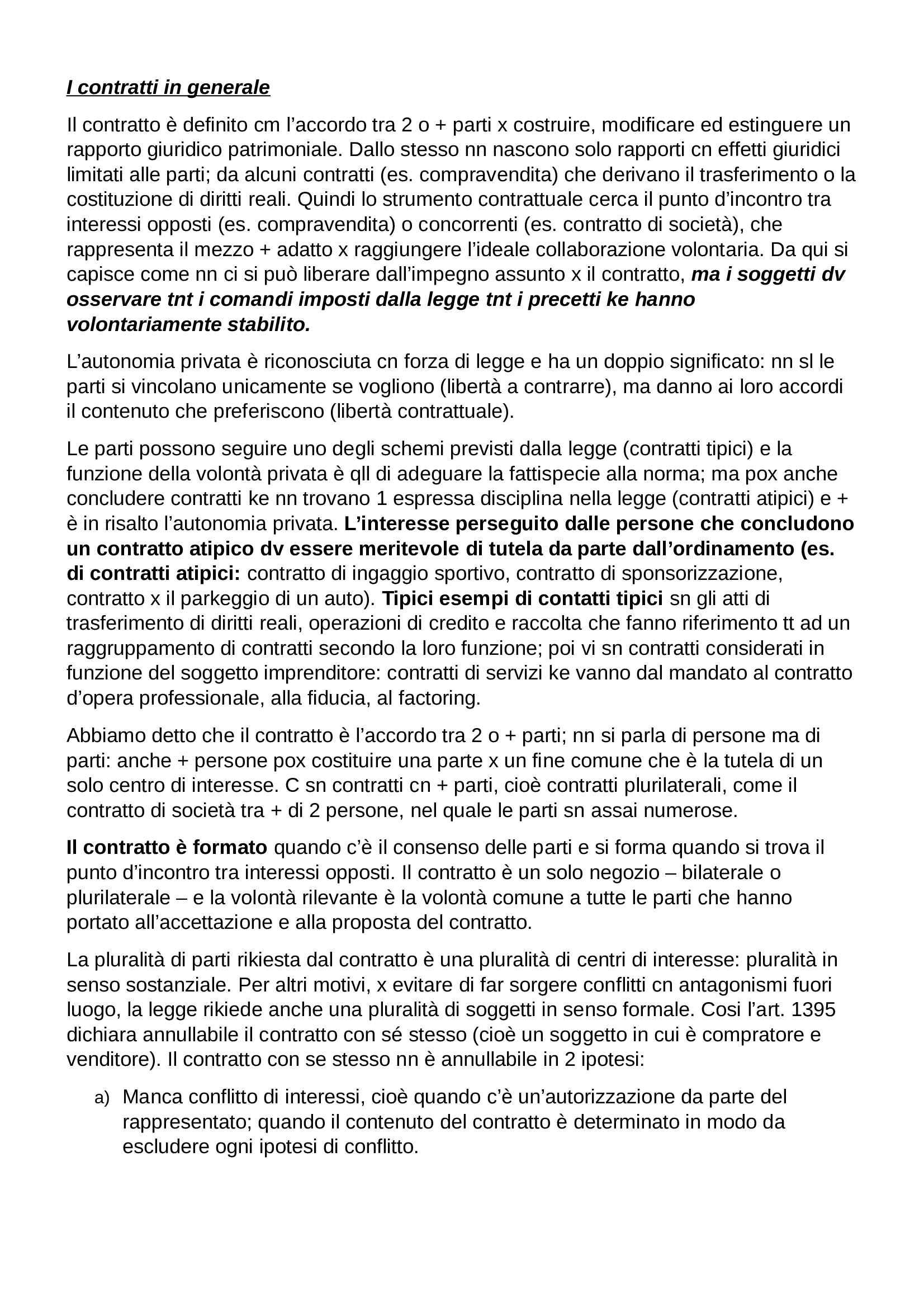Riassunto esame Diritto Privato, prof. Botta, libro consigliato Istituzioni di Diritto Privato, Trabucchi Pag. 36
