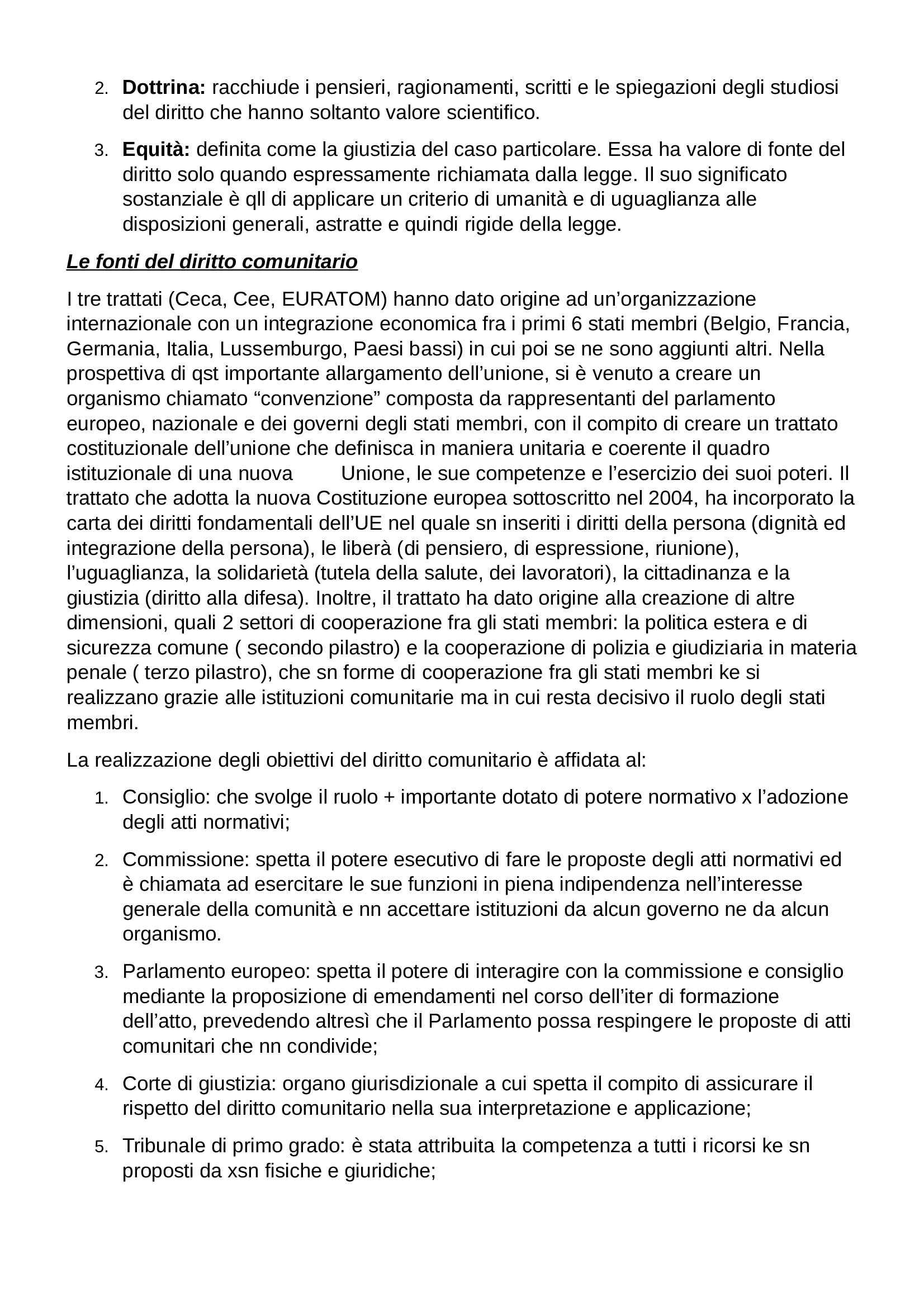 Riassunto esame Diritto Privato, prof. Botta, libro consigliato Istituzioni di Diritto Privato, Trabucchi Pag. 6