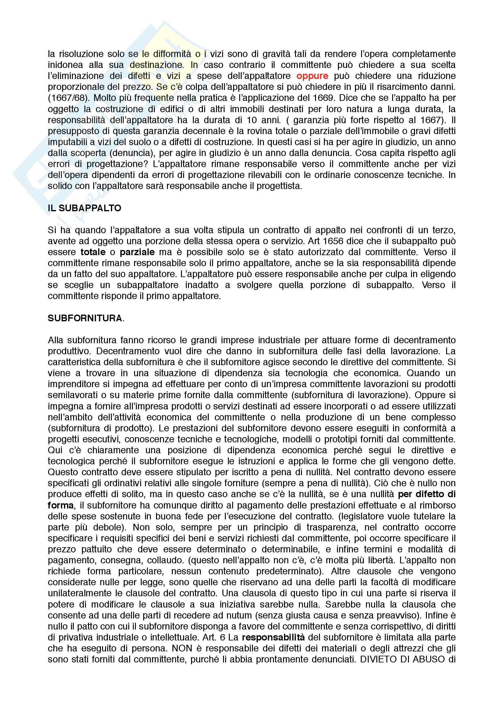 Diritto commerciale pt. 2 : contratti d'impresa Pag. 11