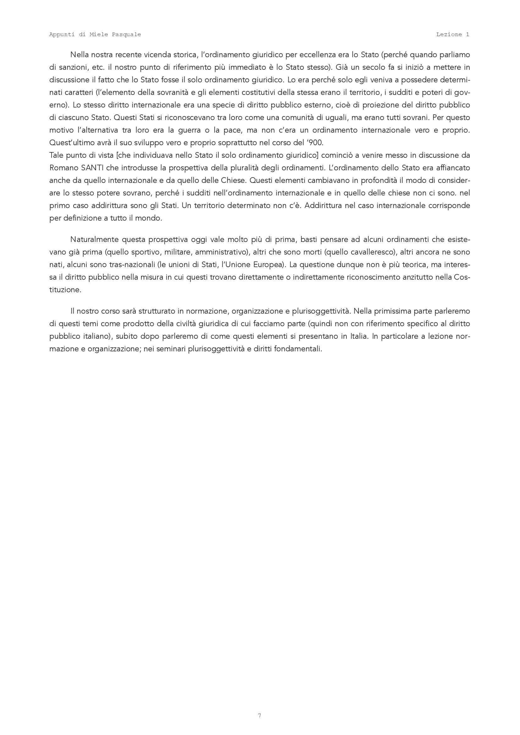 Istituzioni di diritto pubblico - Lezione 1 Pag. 6