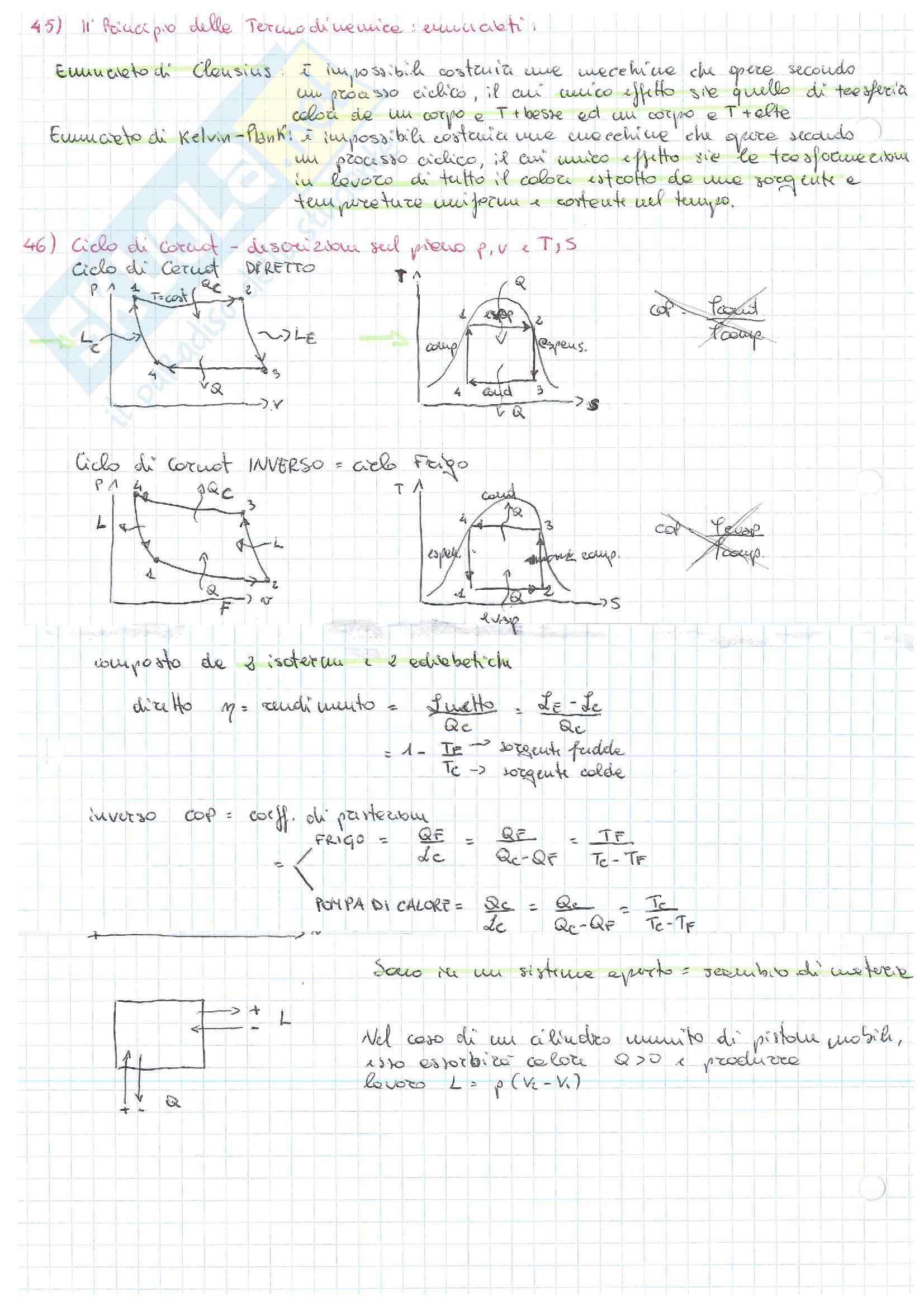 Domande di fisica tecnica Pag. 6