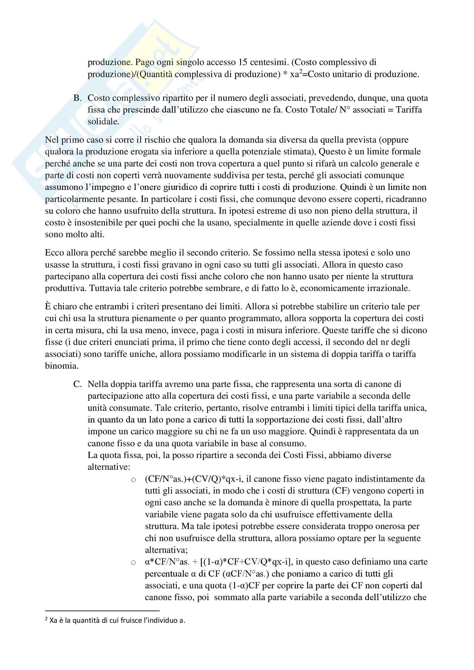 Economia delle aziende non profit Pag. 66