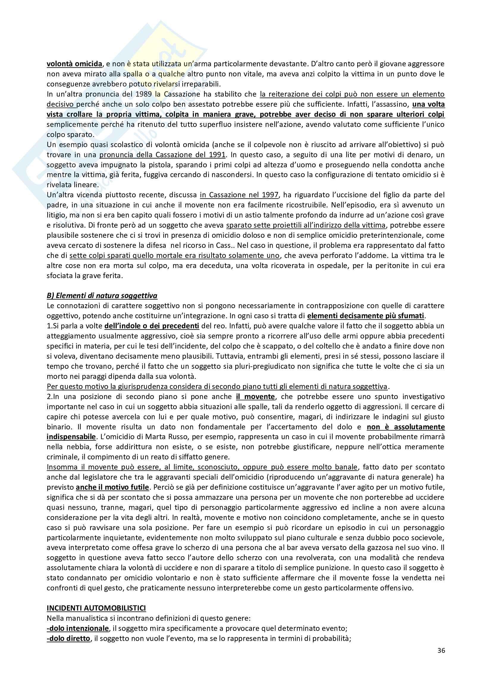 Diritto penale - nozioni Pag. 36