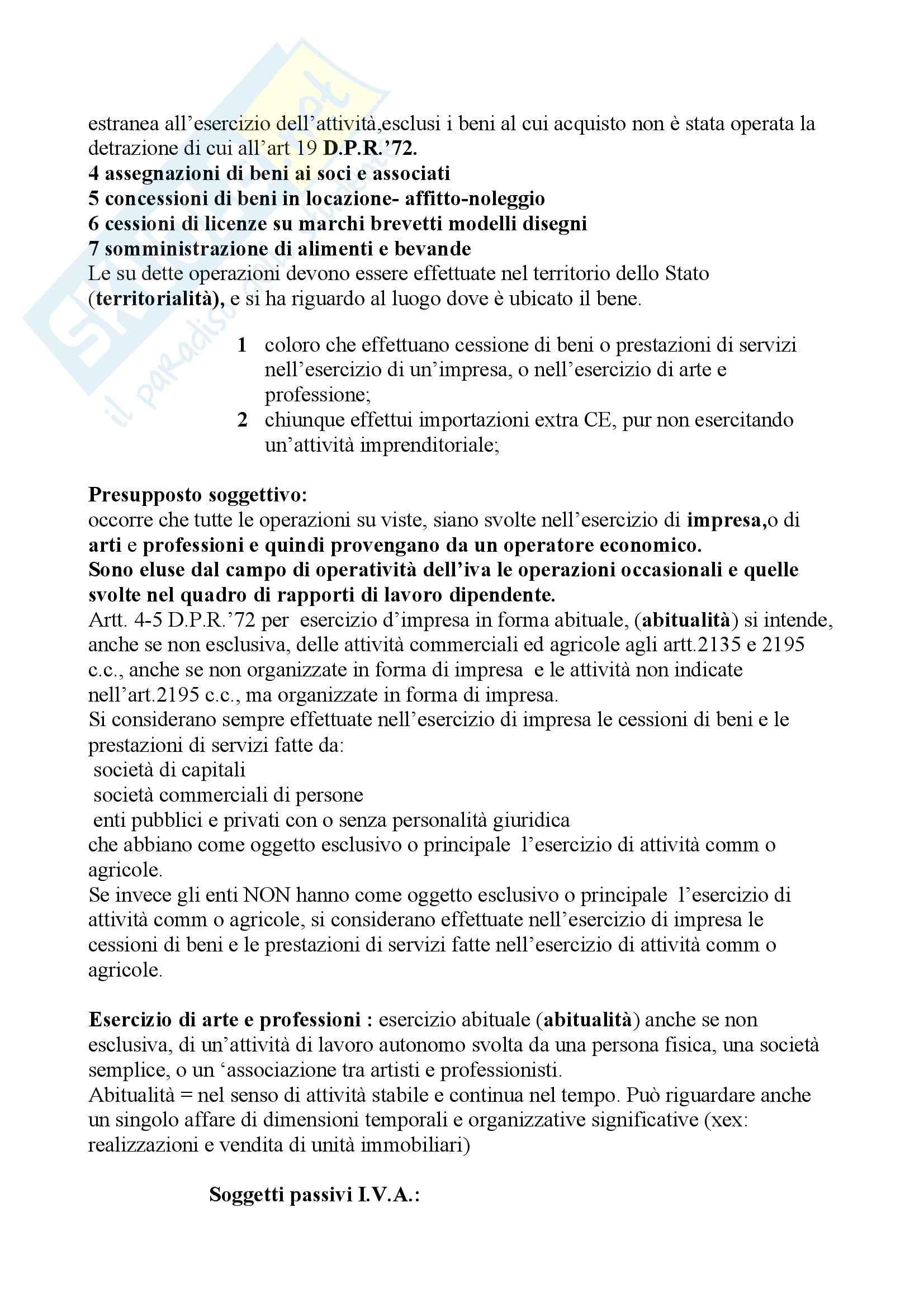 Economia - IVA - Appunti Pag. 2