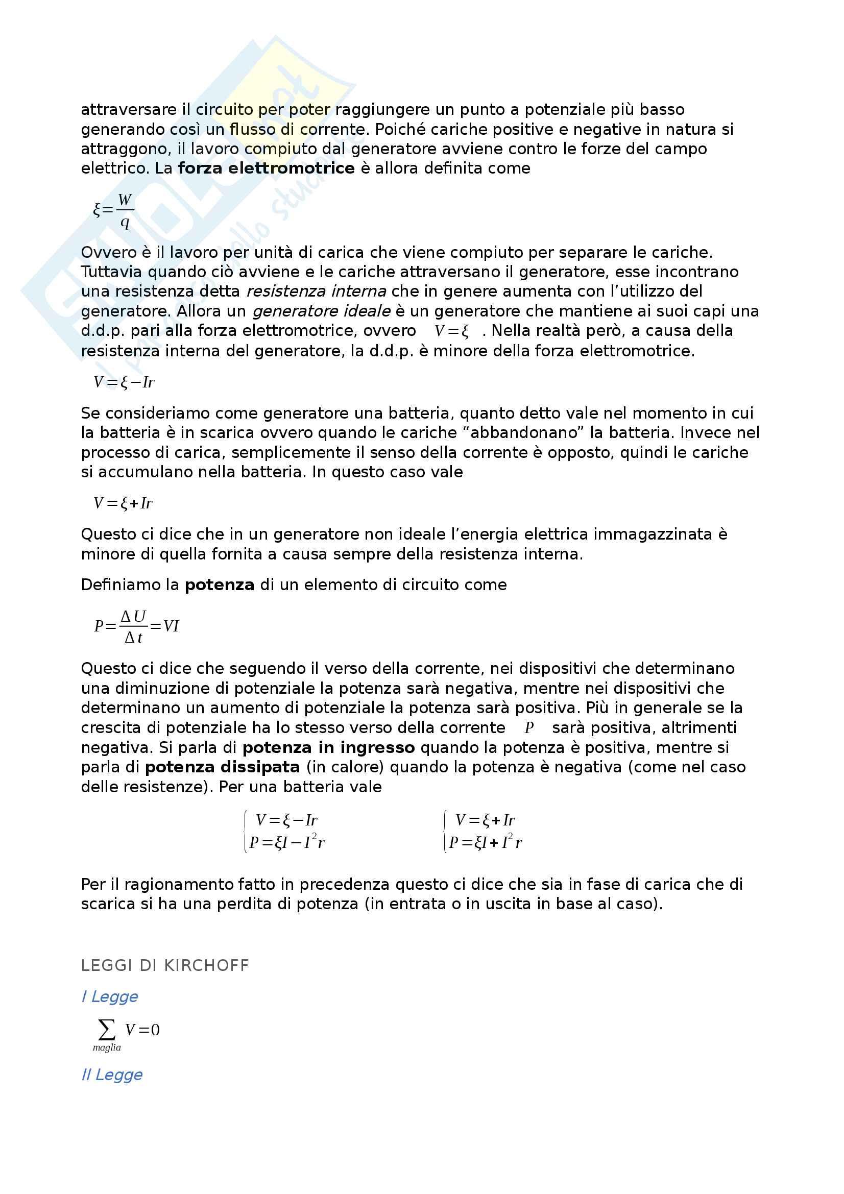 Appunti di Fisica II Pag. 11