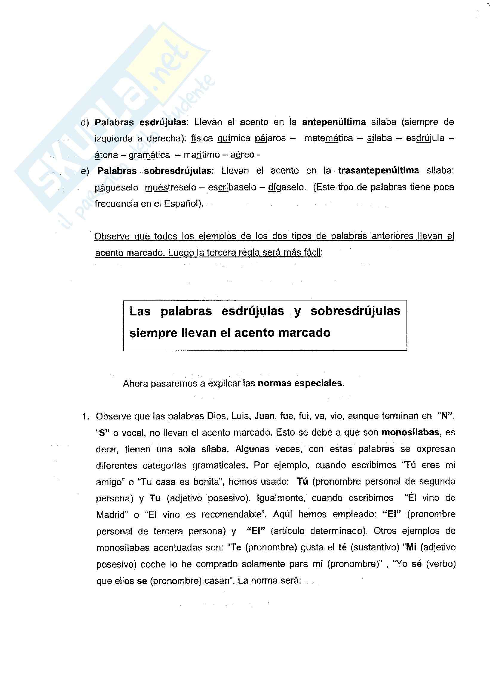 Spagnolo - esercizi e grammatica Pag. 6