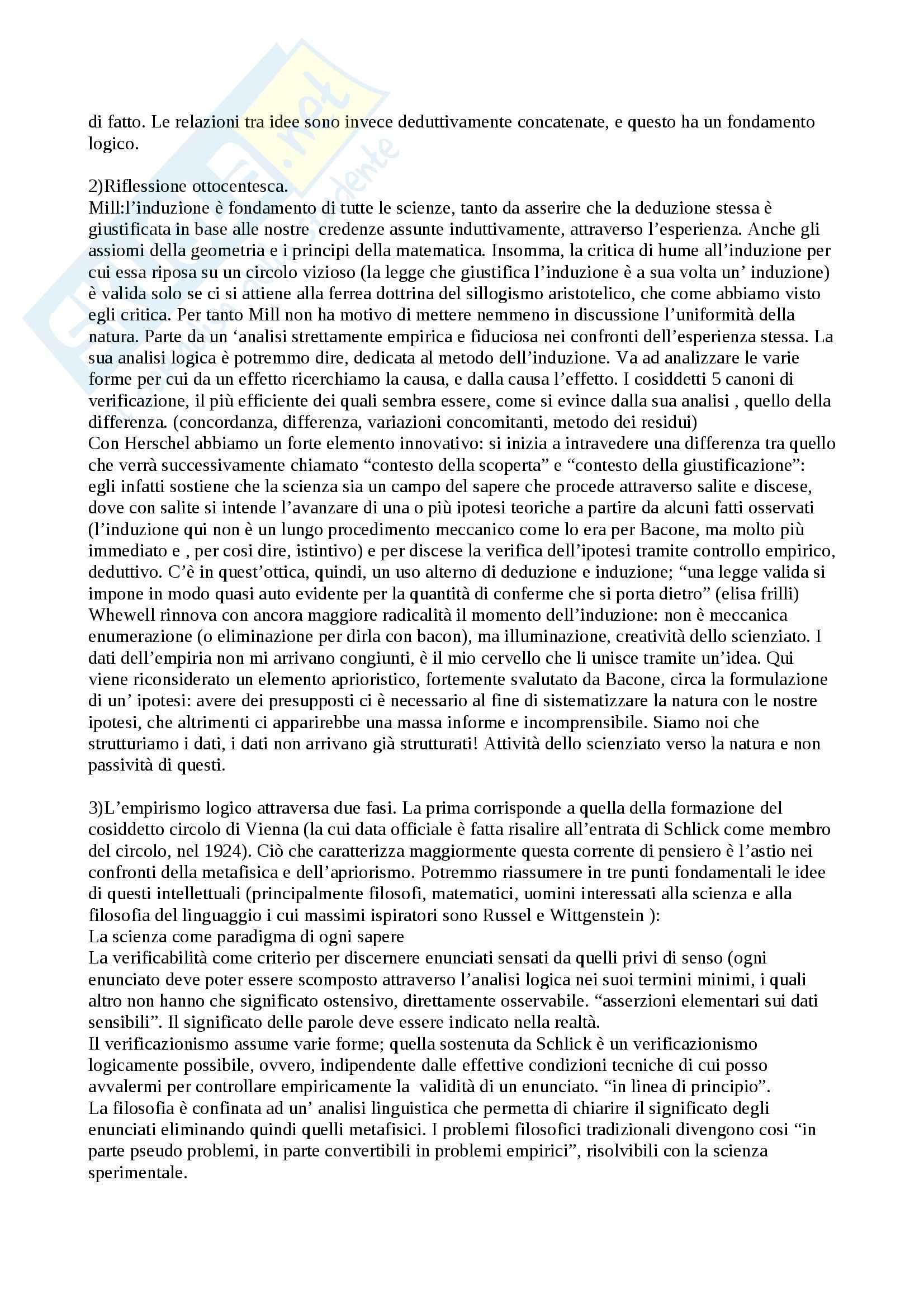 Lezioni, Filosofia della Scienza Pag. 2