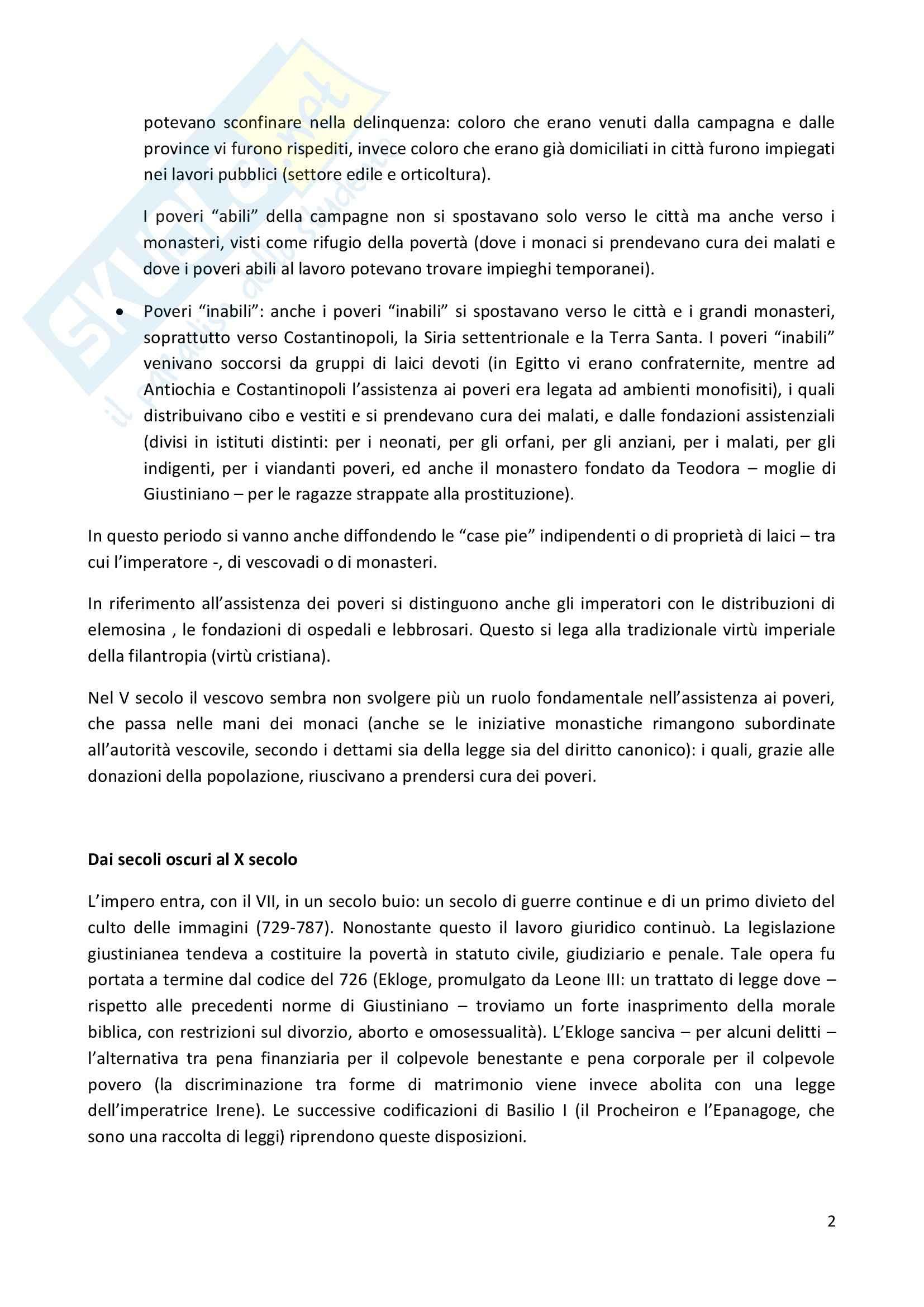 Riassunto esame Civiltà Bizantina, prof. Paroli, libro consigliato L'uomo bizantino, Cavallo Pag. 2