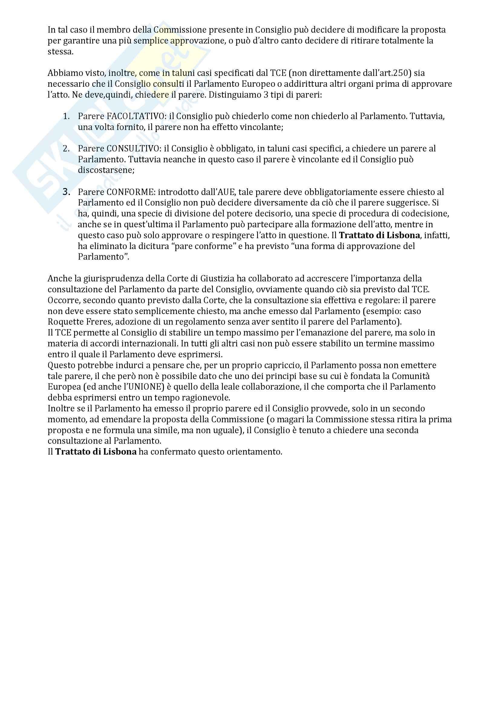 Appunti di Diritto dell'Unione Europea Pag. 21