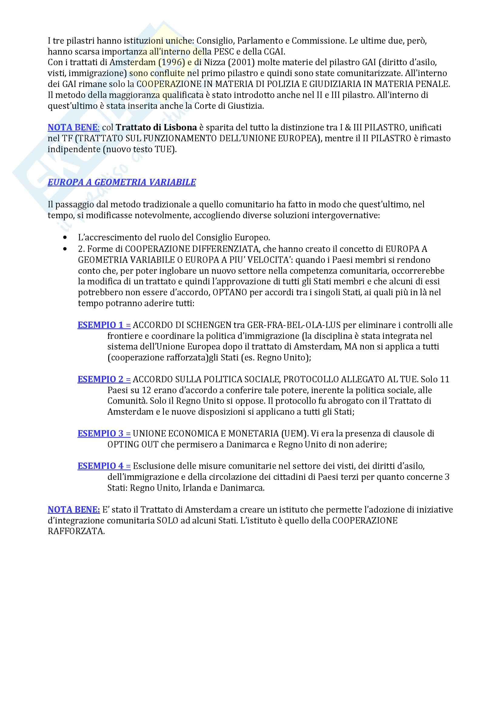 Appunti di Diritto dell'Unione Europea Pag. 6