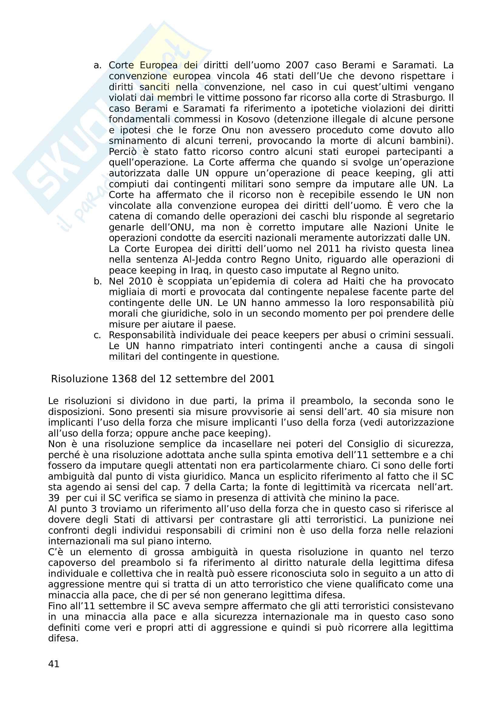 Appunti Diritto internazionale prof Santini Pag. 41