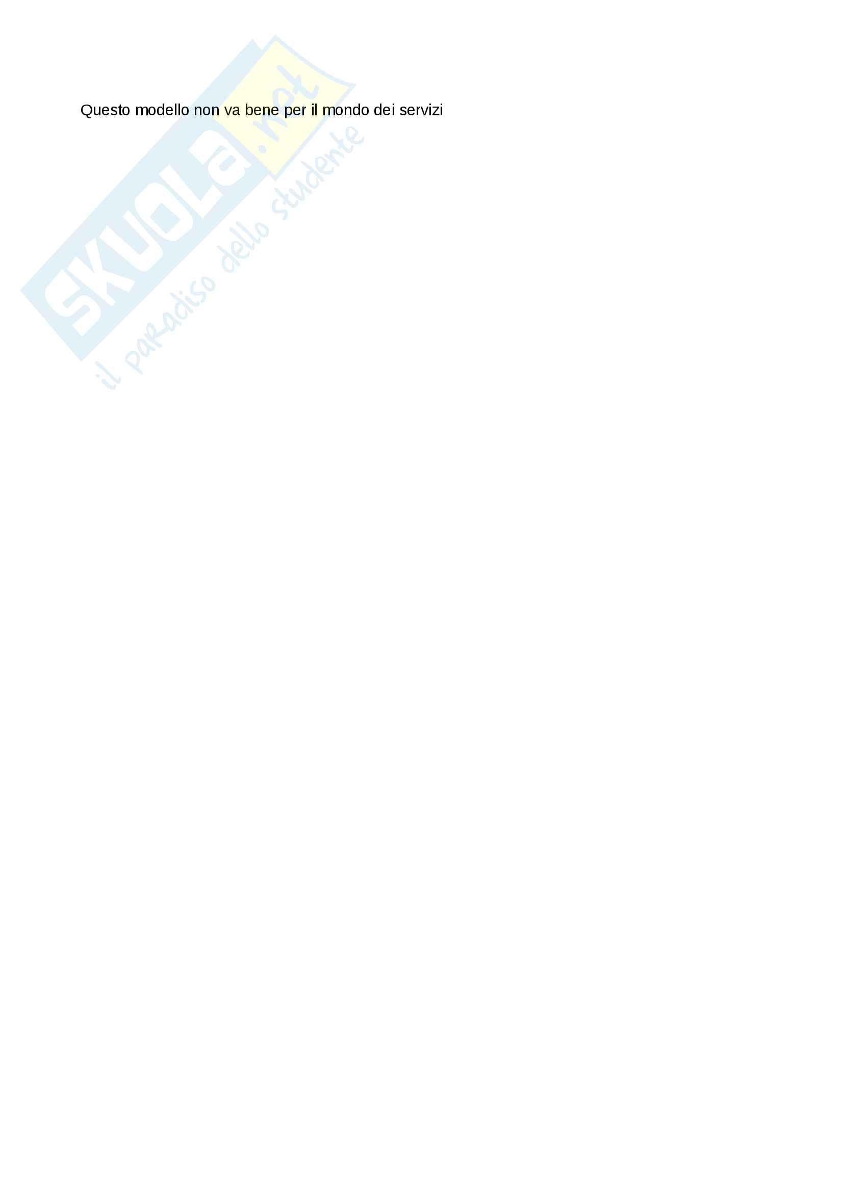 Riassunto di Gestione della Tecnologia, dell'Innovazione e delle Operations (GTIO) Pag. 6