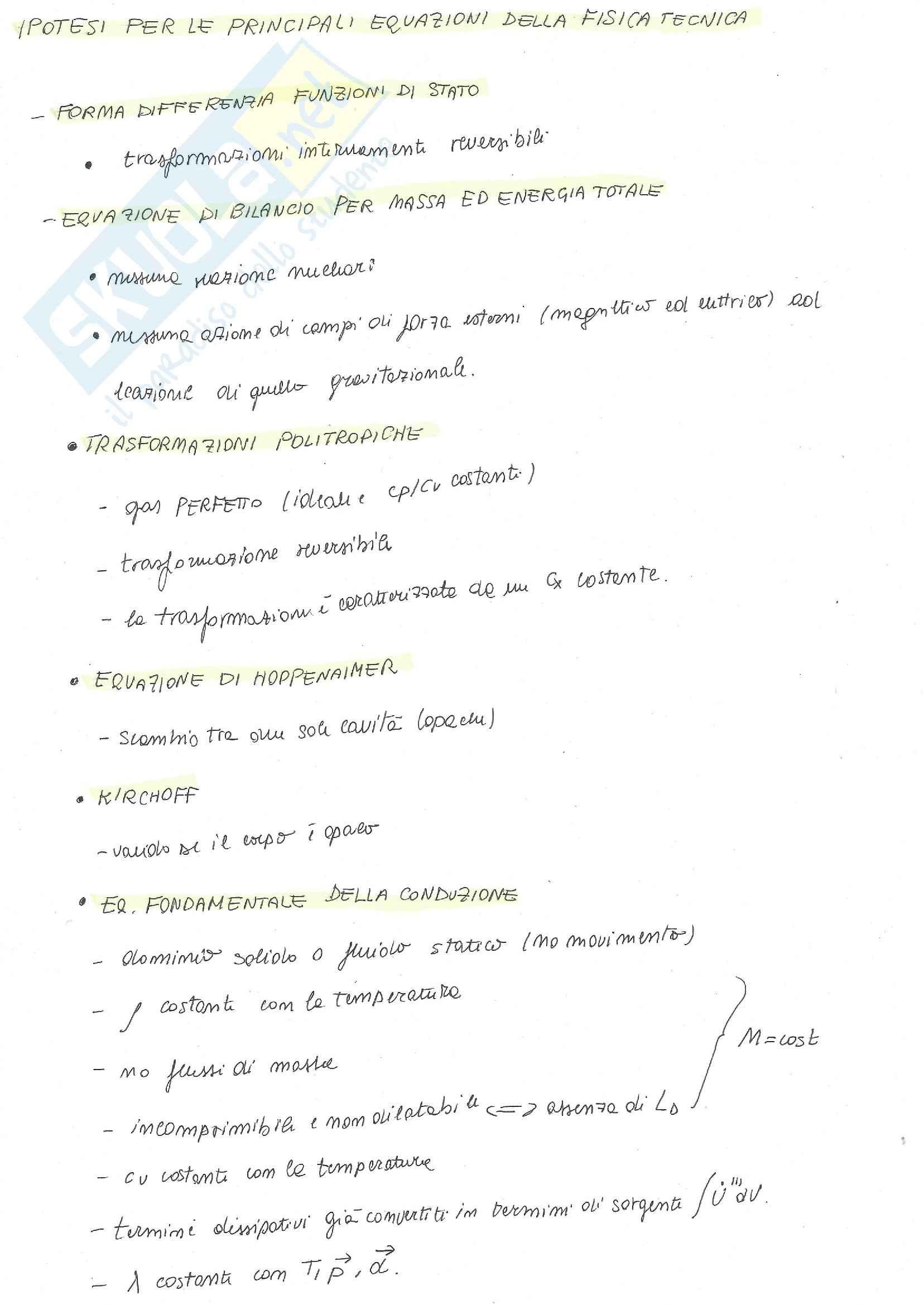 Fisica Tecnica - formulario + esercizi + risposte a domande di teoria Pag. 26