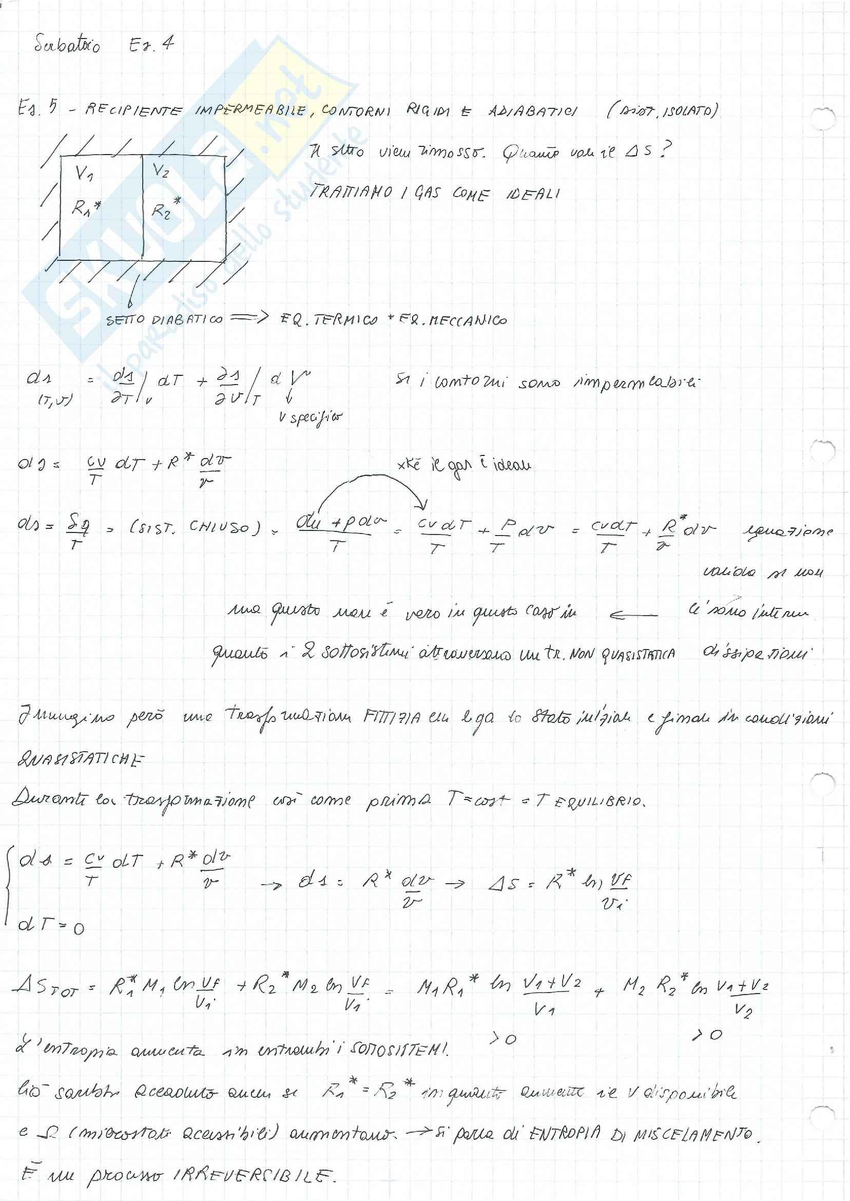 Fisica Tecnica - formulario + esercizi + risposte a domande di teoria Pag. 41