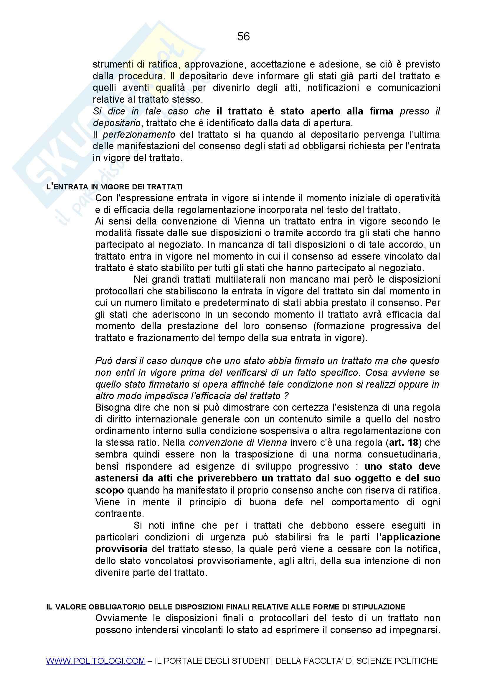 Diritto internazionale Pag. 56