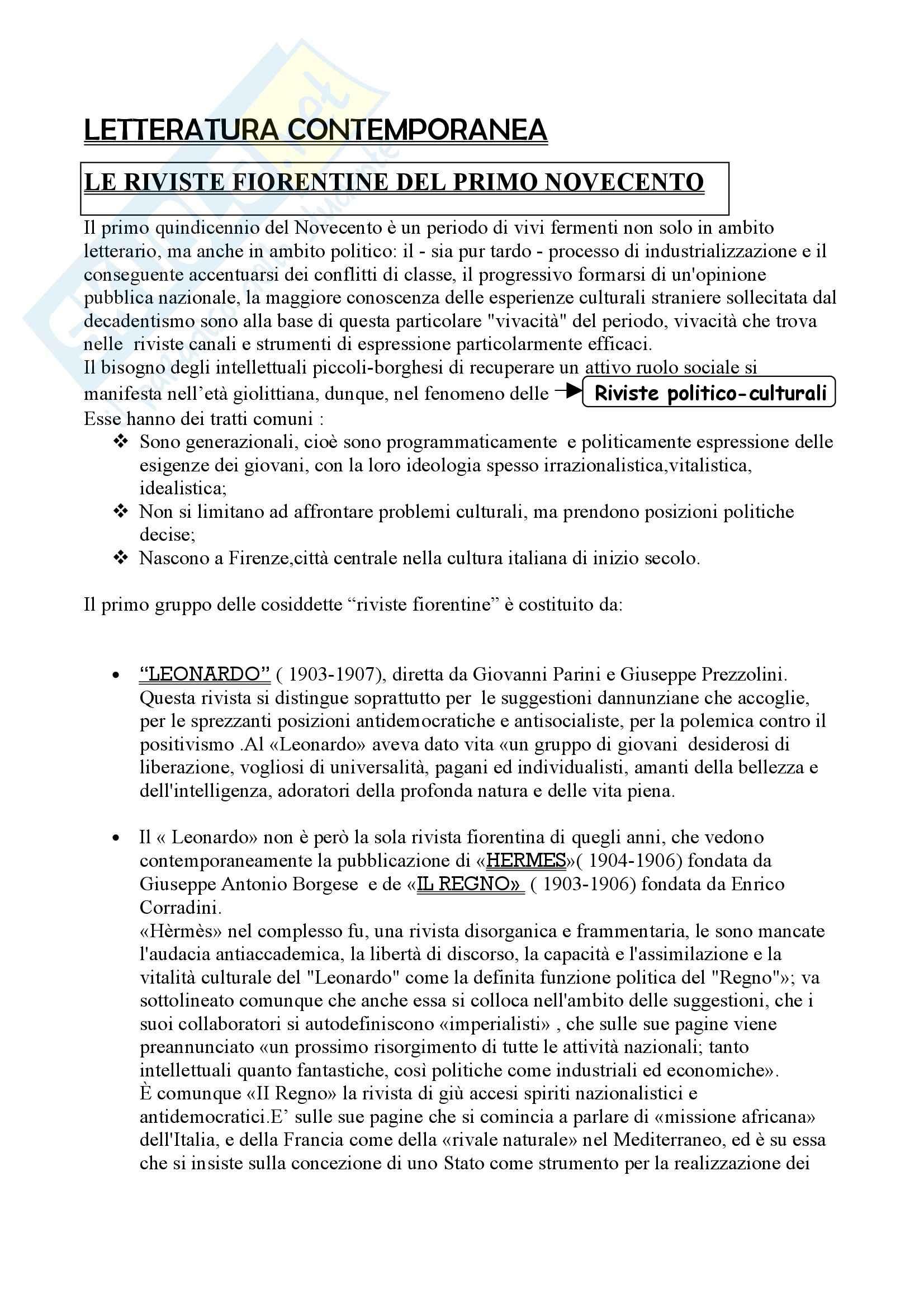 Riassunto esame Letteratura, libro adottato Letteratura, storia, immaginario, Luperini