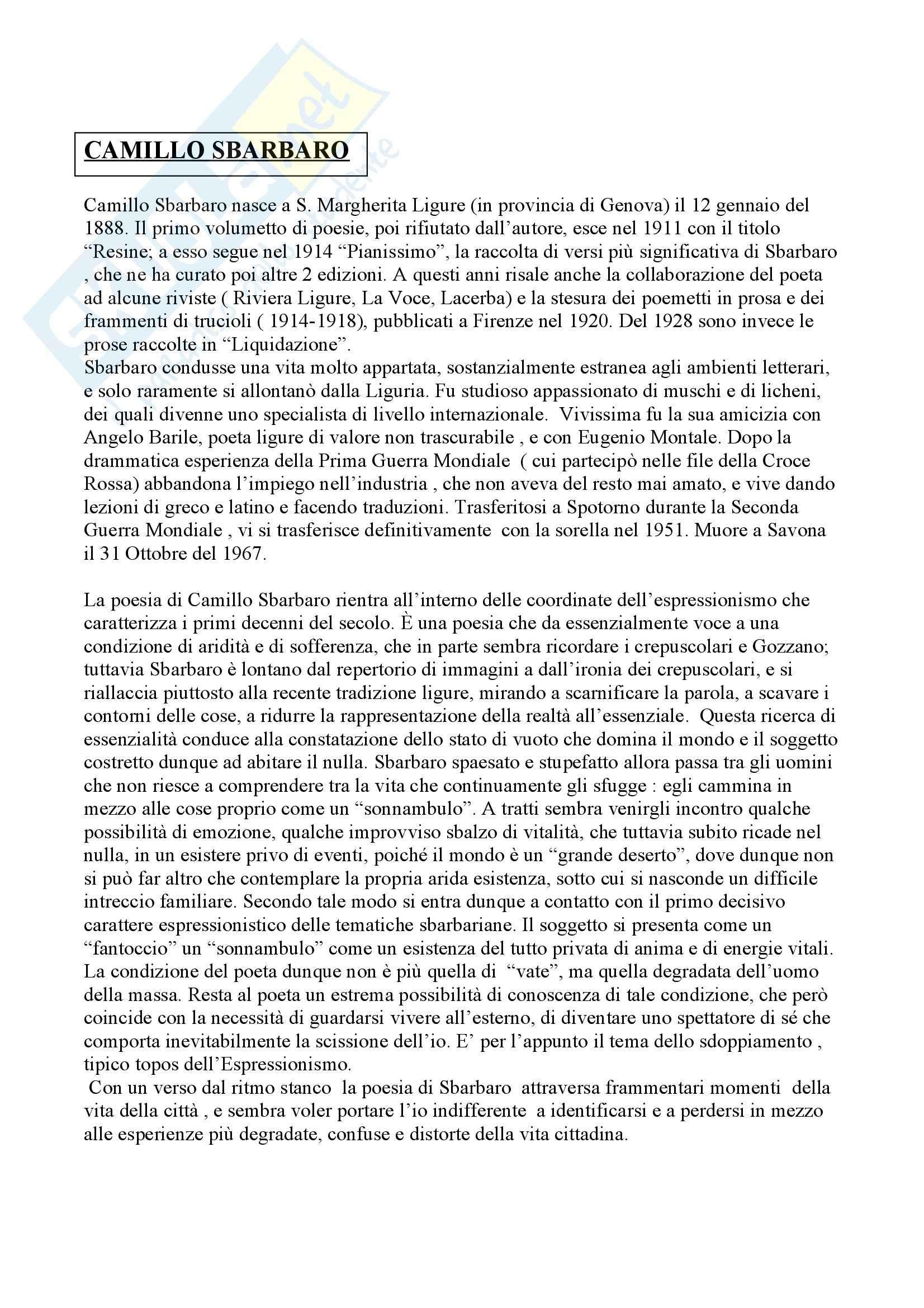 Riassunto esame Letteratura, libro adottato Letteratura, storia, immaginario, Luperini Pag. 16
